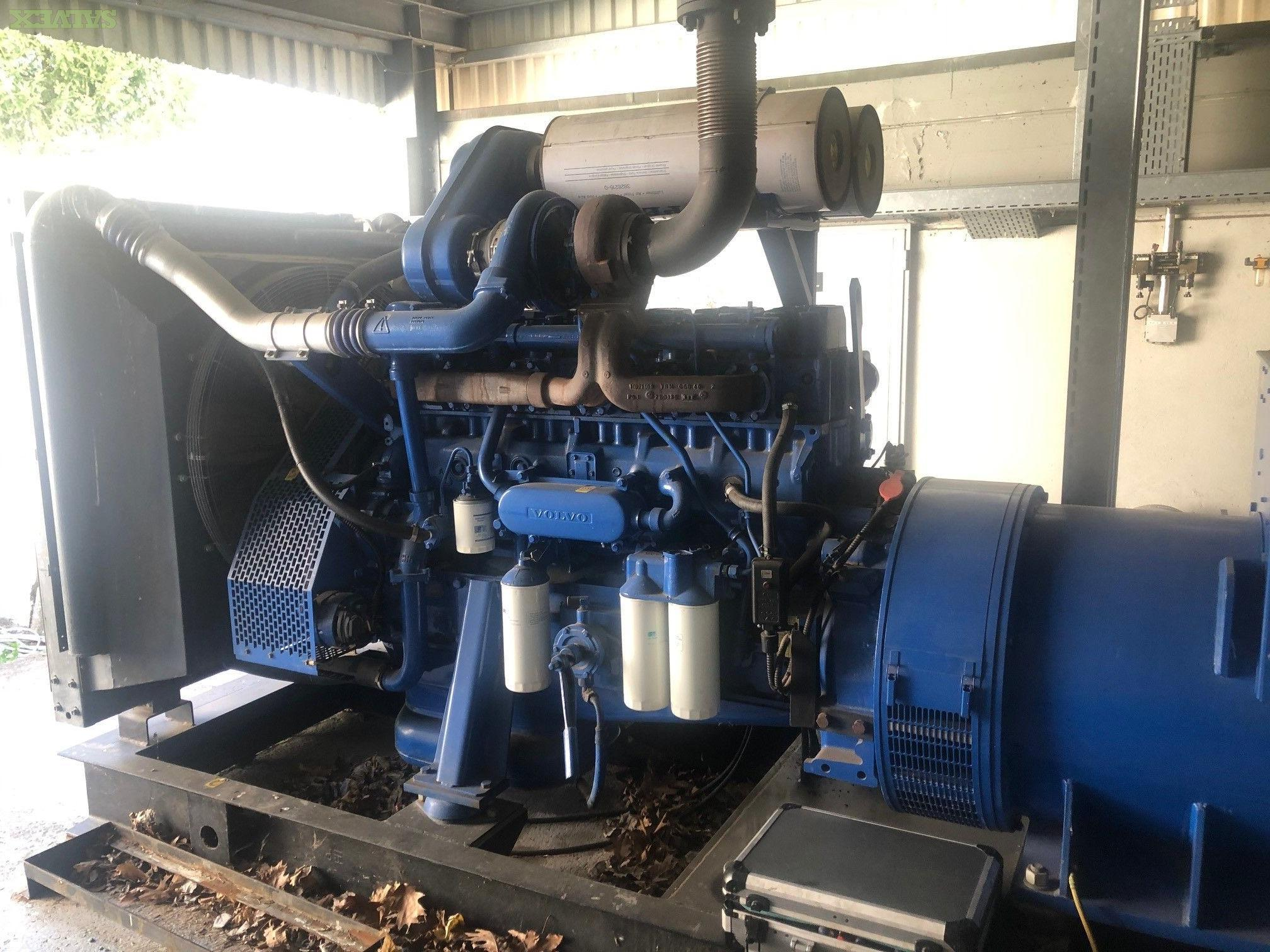Volvo Penta Power Electric Generator 500KVA-400KW Complete With Electrical Box (1 Unit)