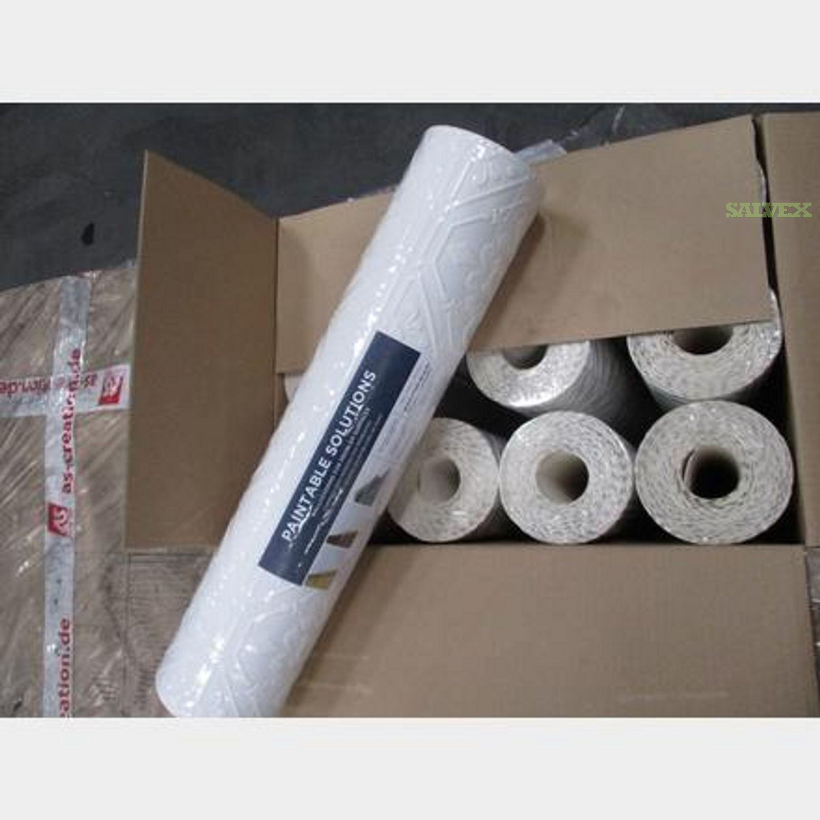 Wallpaper Rolls - 3D Paintable; Vinyl; Pre-Pasted; Washable (400 Rolls)