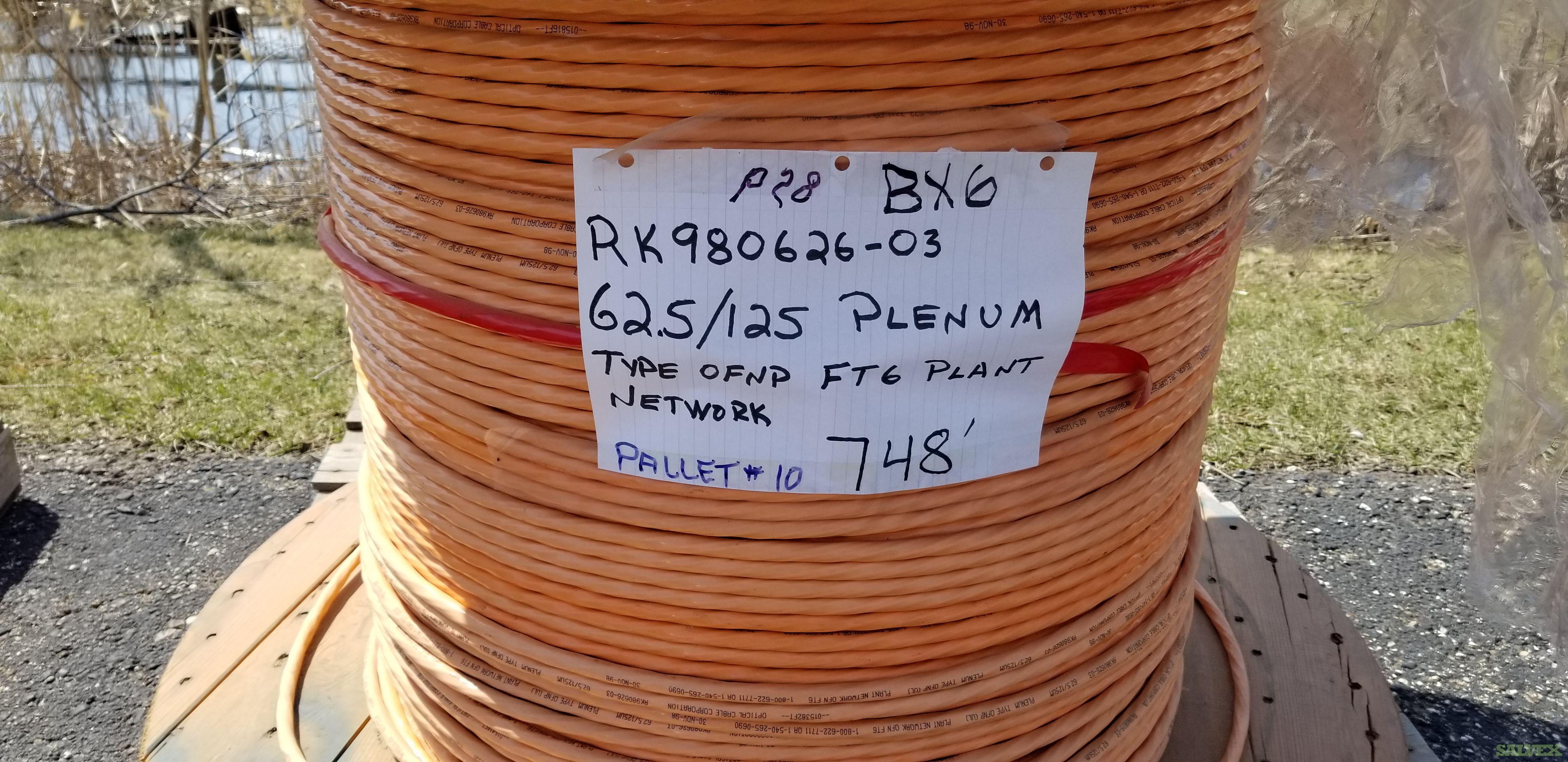 Fiber Optic Cables (94,398 Ft.)