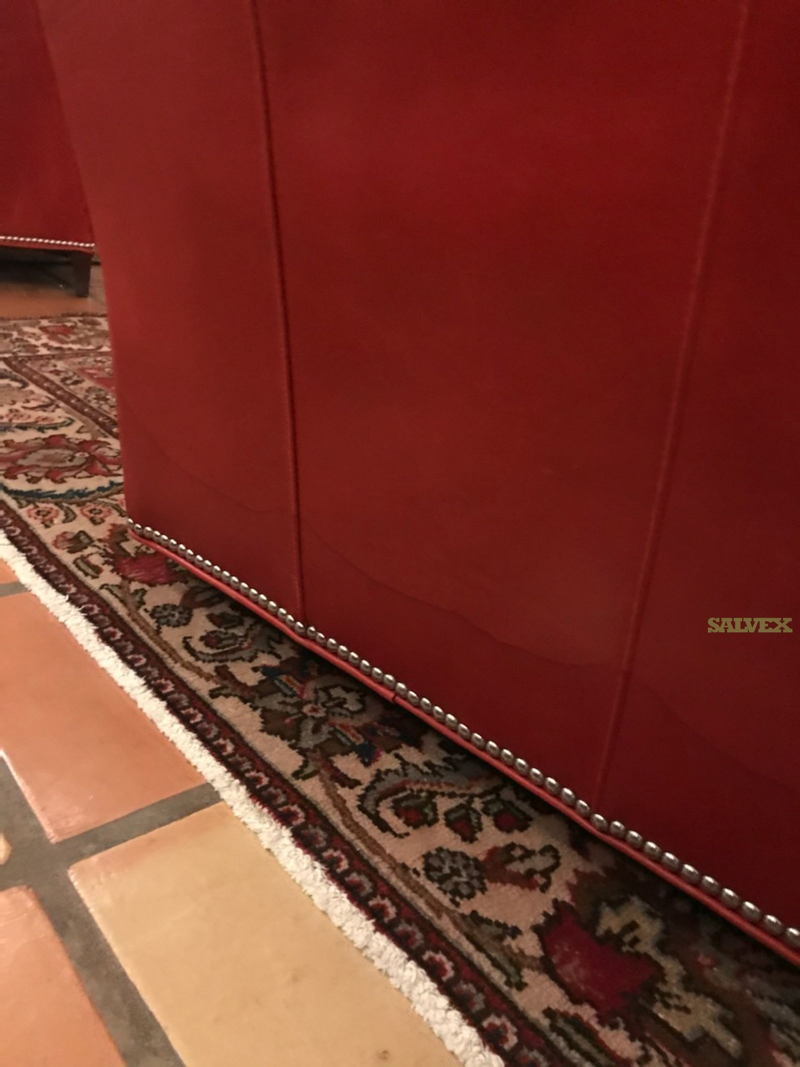 Waldrop Rugs and Damaged Swivel Chair