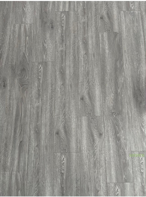 HDF Laminate Flooring 12.3 mm HDF // Color: Gray-s01 (150 Boxes / 3000 SF)