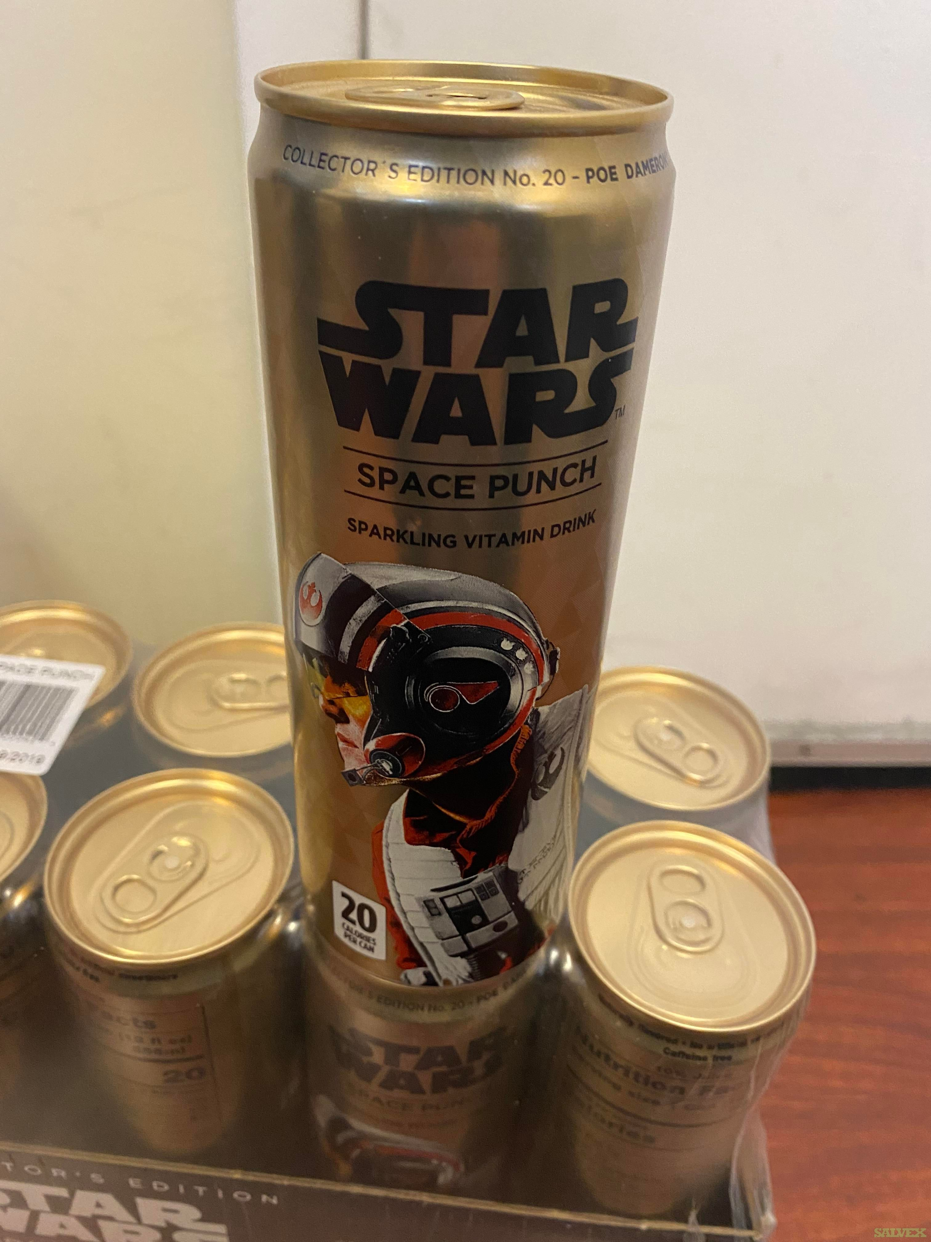 Star Wars Space Punch Sparkling Vitamin Drink (2240 Cases)