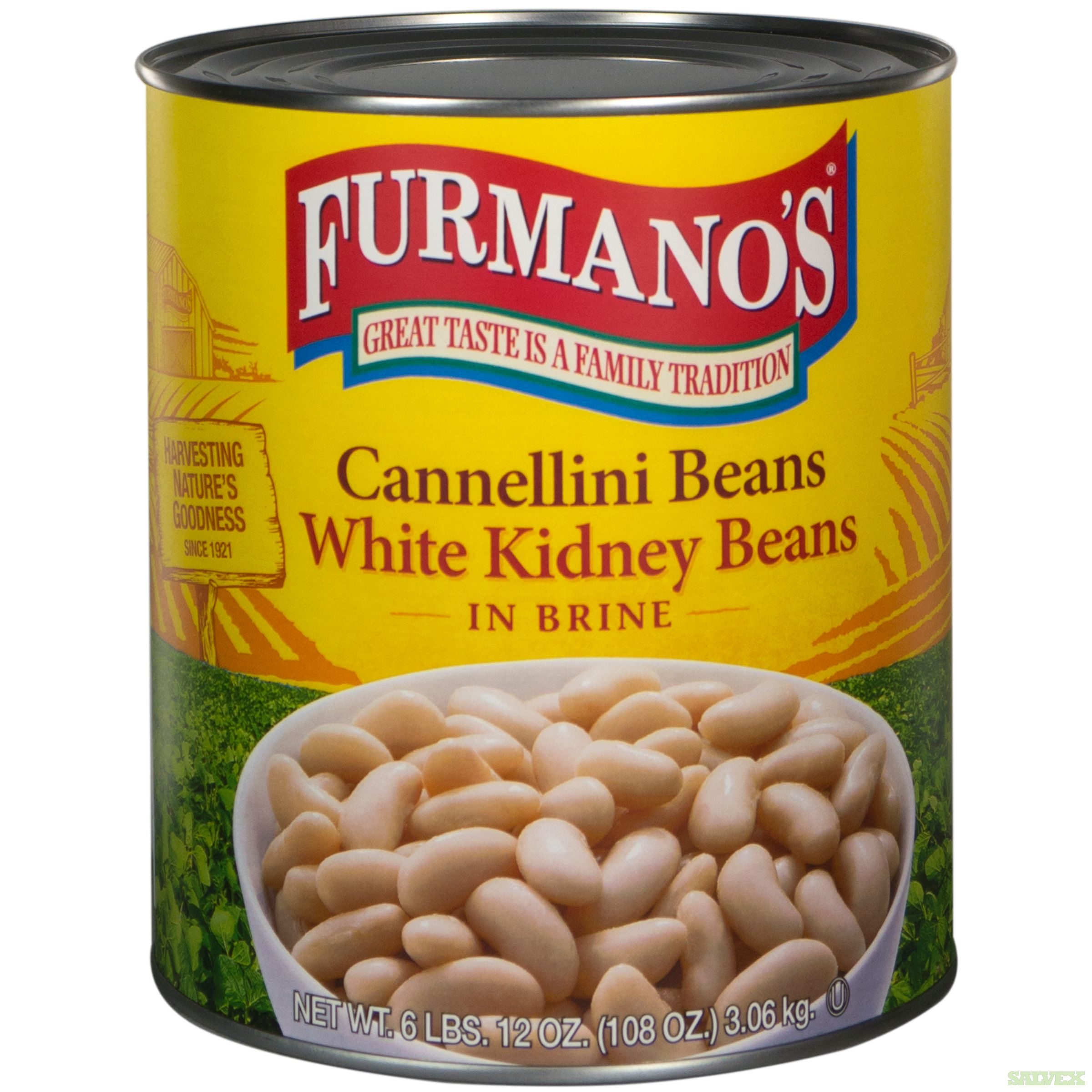 Wax Beans, Furmano Great Northern Beans, Furmano Seasoned Black Beans, Country Style Baked Beans, Furmano White Kidney (cannellini) Beans (1,651 Cases)