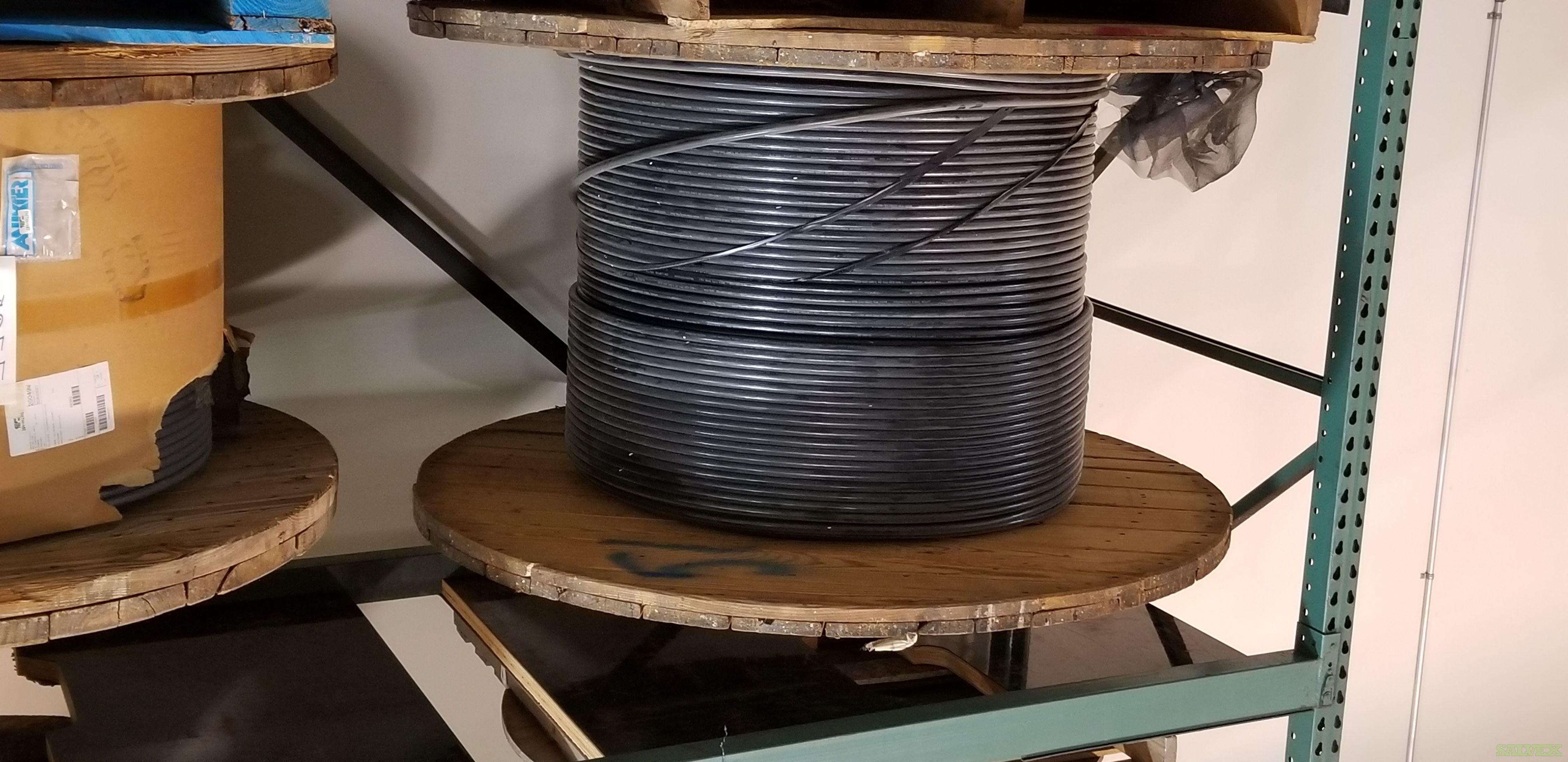 Fiber Optic Cable, Fiber Patch Cables, LC Connectors and Building Termination Materials (100,448 Ft)