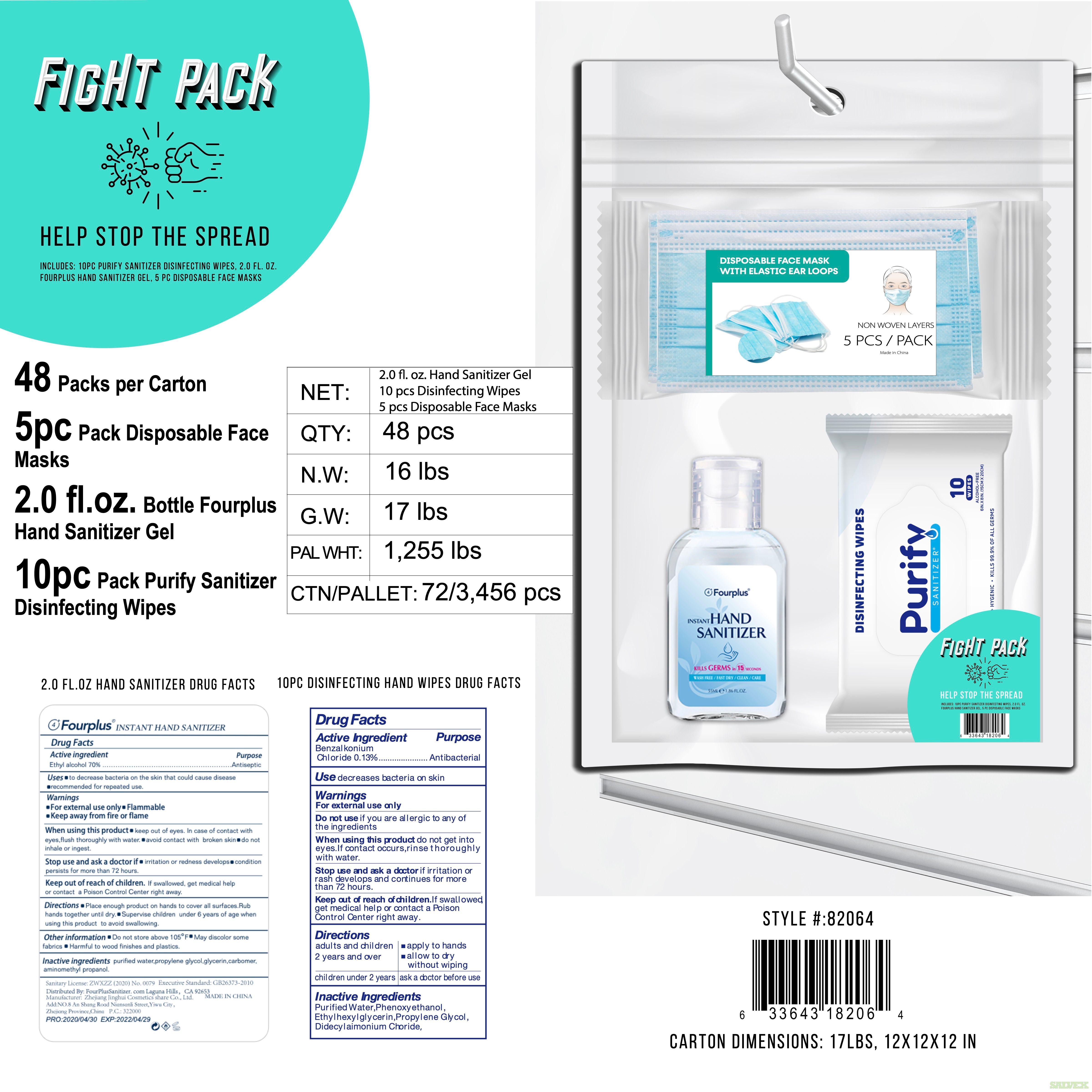 Sanitizer Packs  (Fight Packs)  85,000