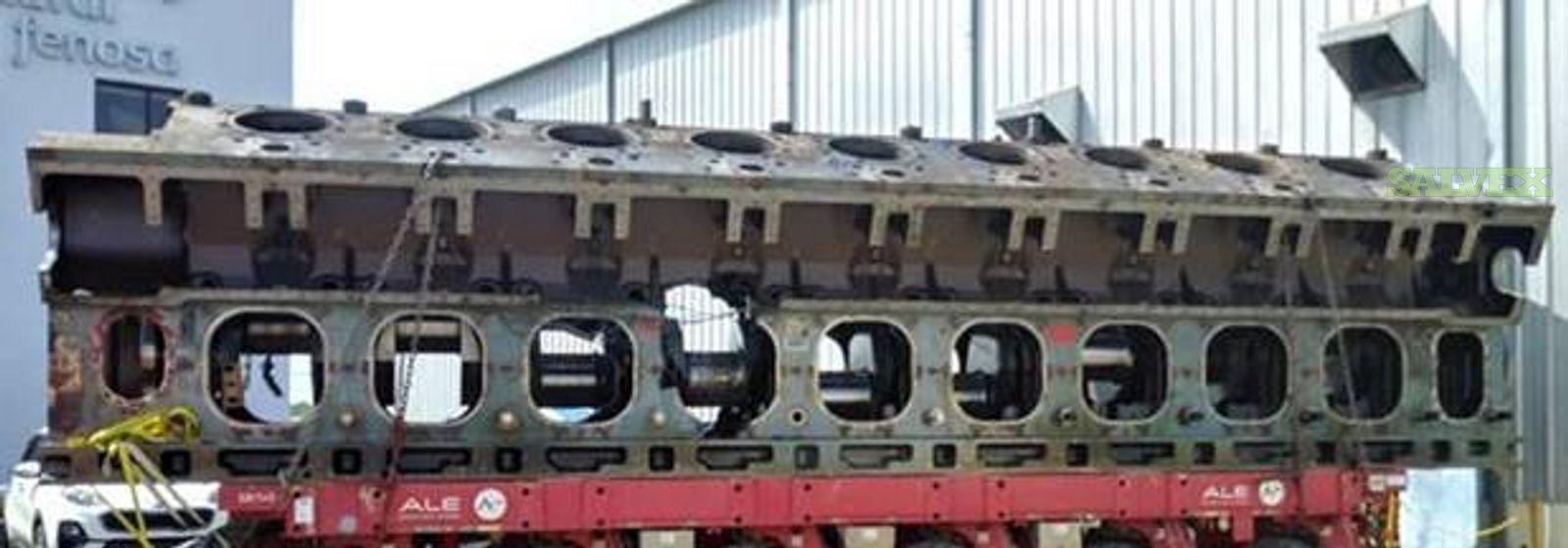 MAN V 48/60  Power Plant Engine- Damaged