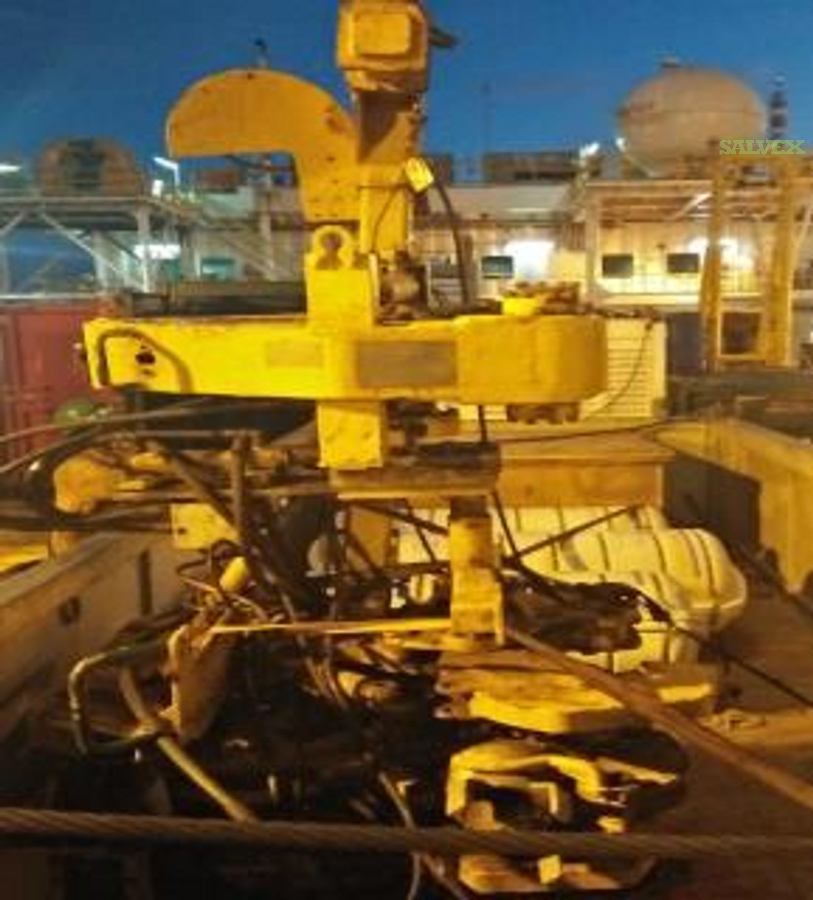 Metal Scrap: Hawk Integrated Make-Up / Break-out Tool, Centrifugal Pump, Steel Wire Rope and More   (25 Items)