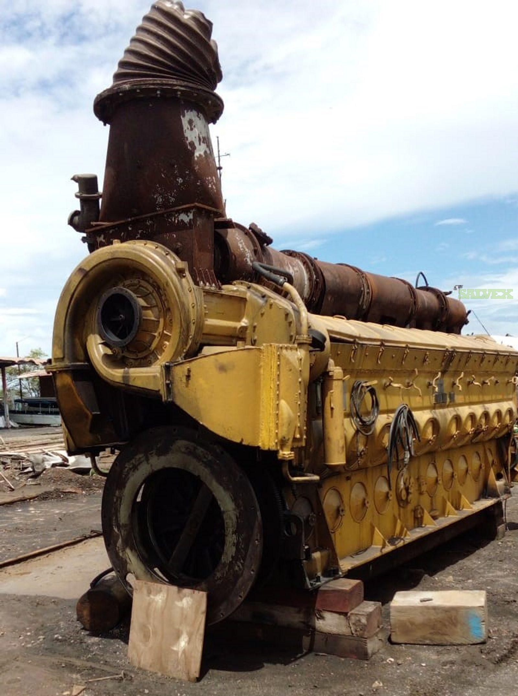 EMD, GM Marine Engine with Transmission in Panama