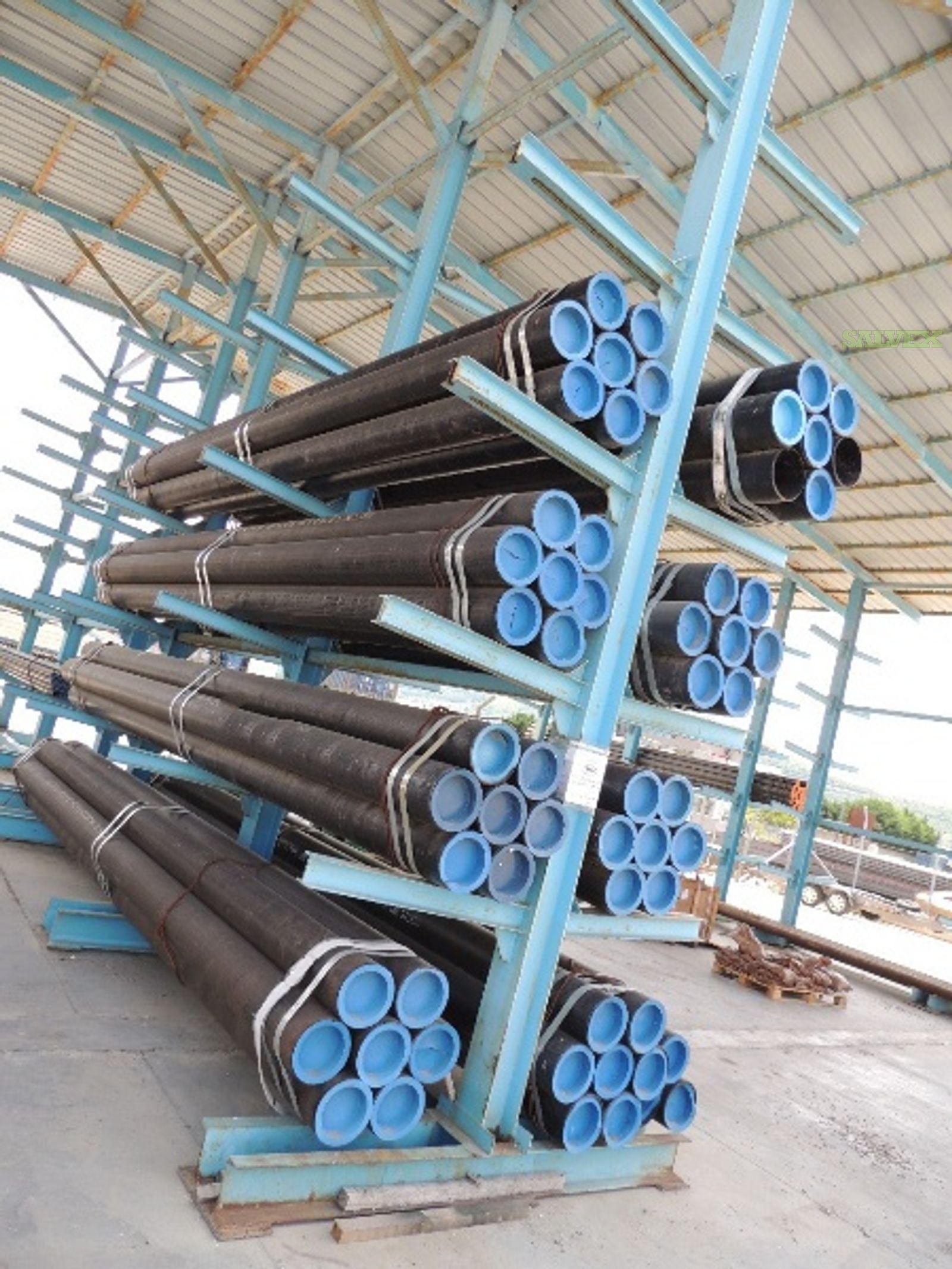 8 26.27# 0.32WT GrB Surplus Line Pipe (990 Feet / 12 Metric Tons)