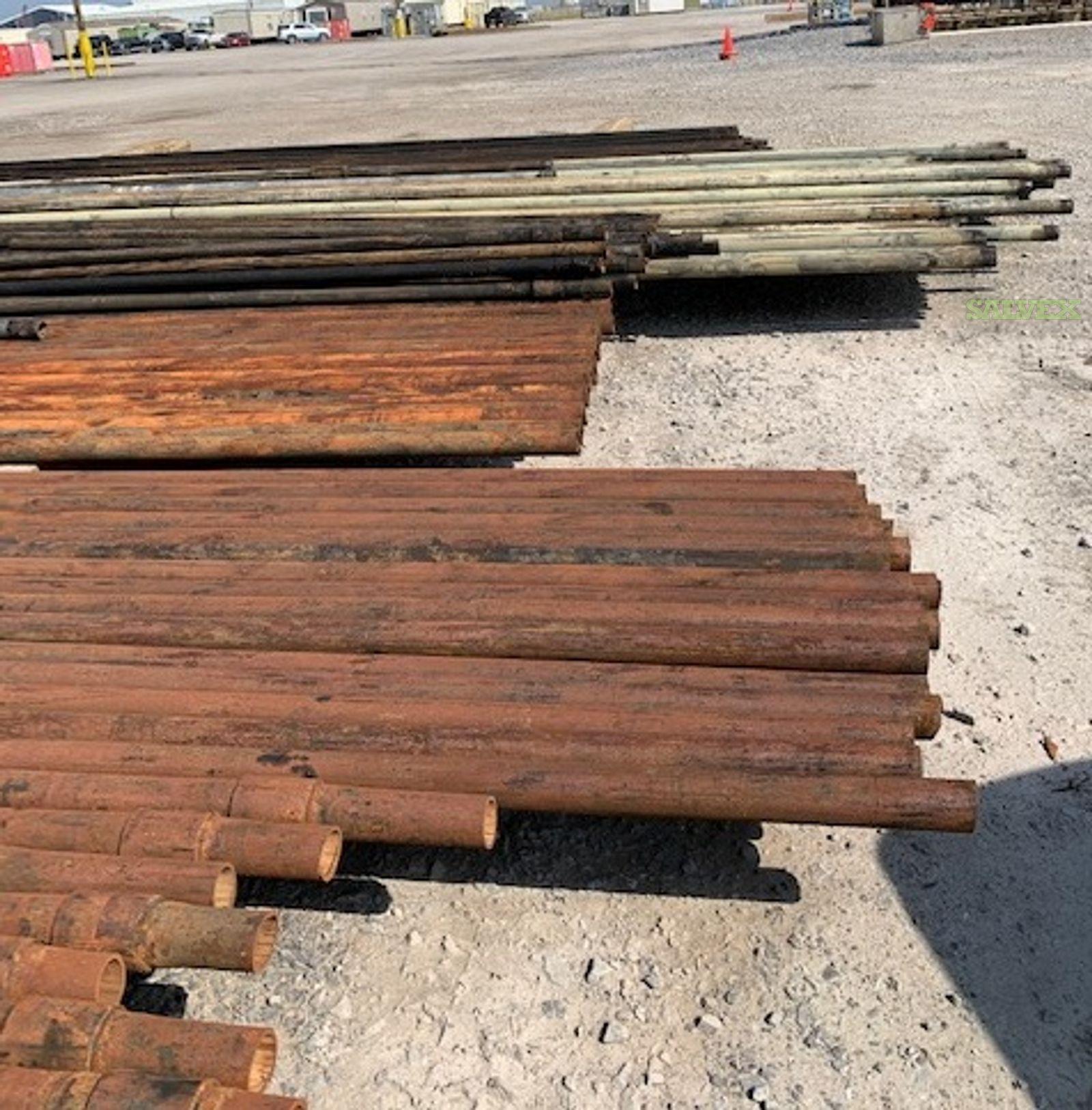 2 7/8 - 3 1/2 N-80 EUE 8R Structural Tubing (15,424 Feet / 53 Metric Tons)