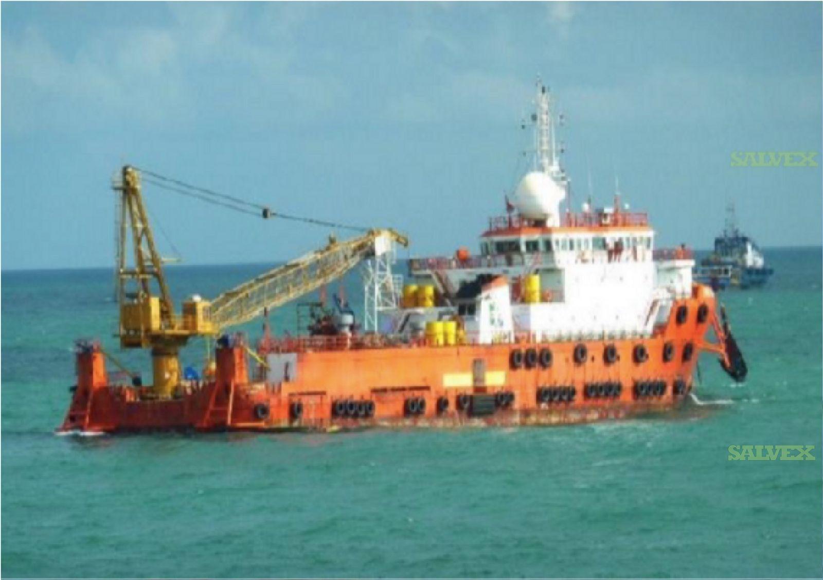 2004 74M Accommodation/ Work Vessel