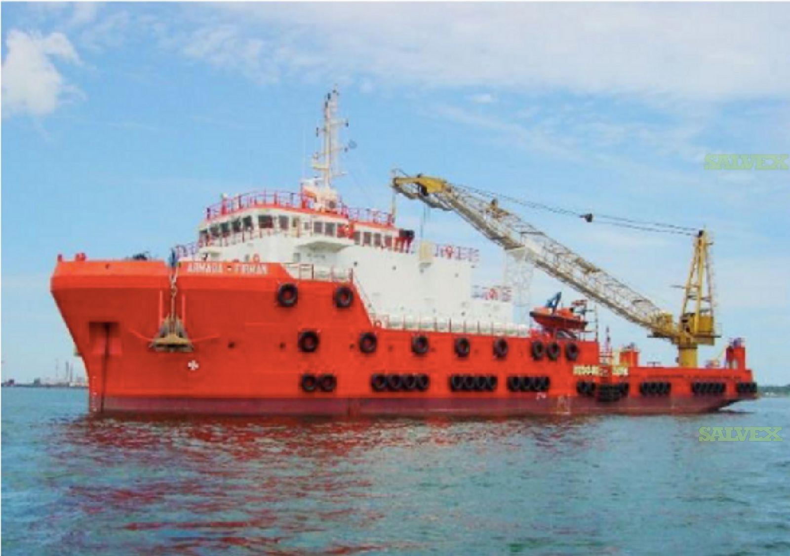 2008 75M DP2 Accommodation/ Work Vessel