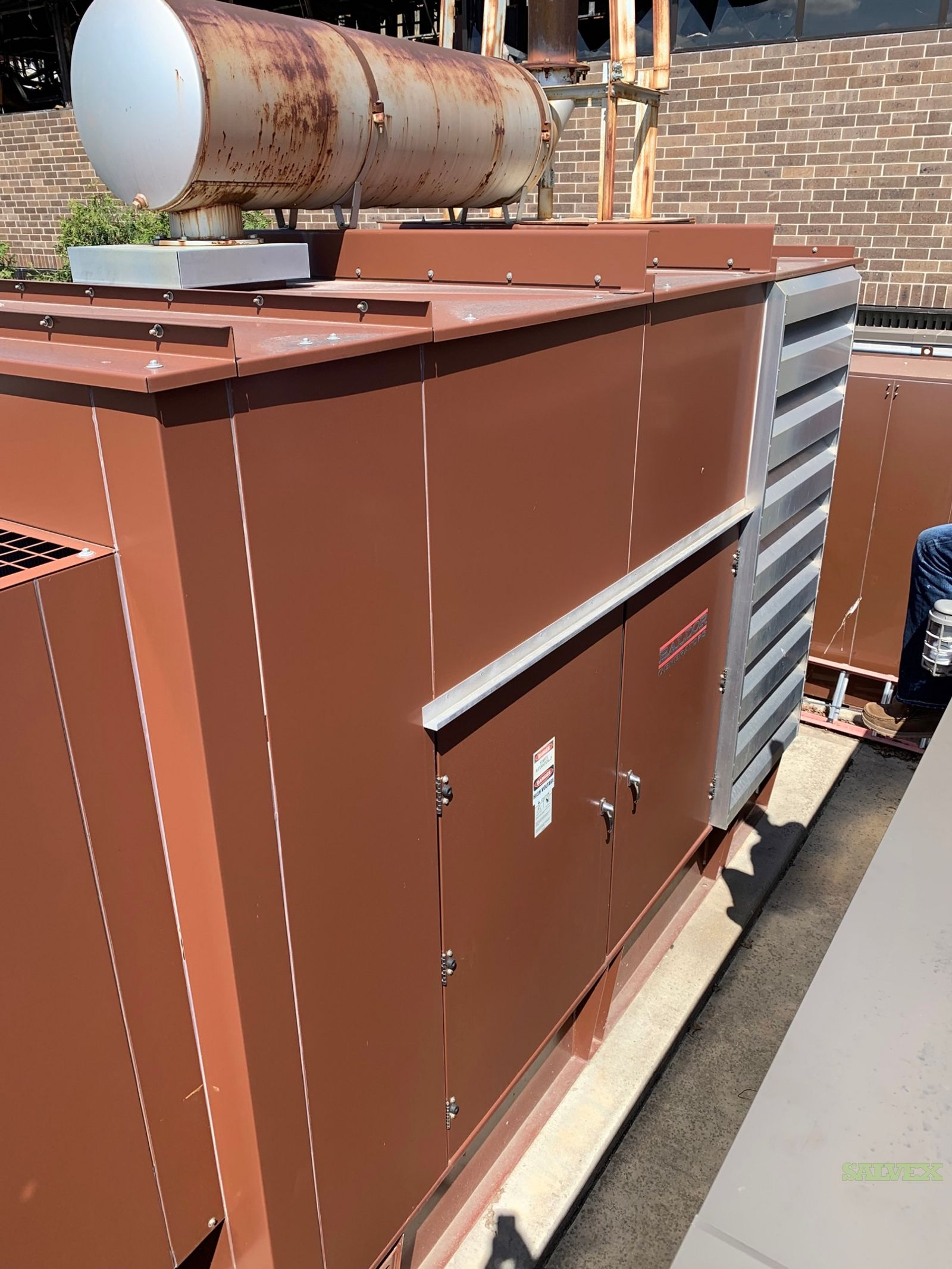 500 kw Detroit Diesel Generator Set