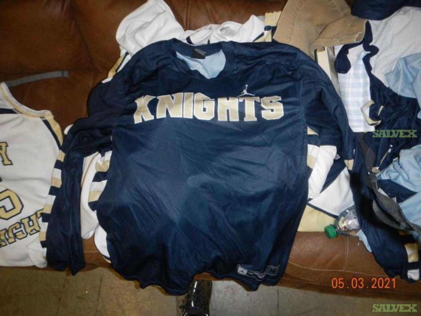 Sports Apparel: Jordan Gray Uniform, Nike Digital Hyperlite Showcase Jersey, Nike Backpack and More