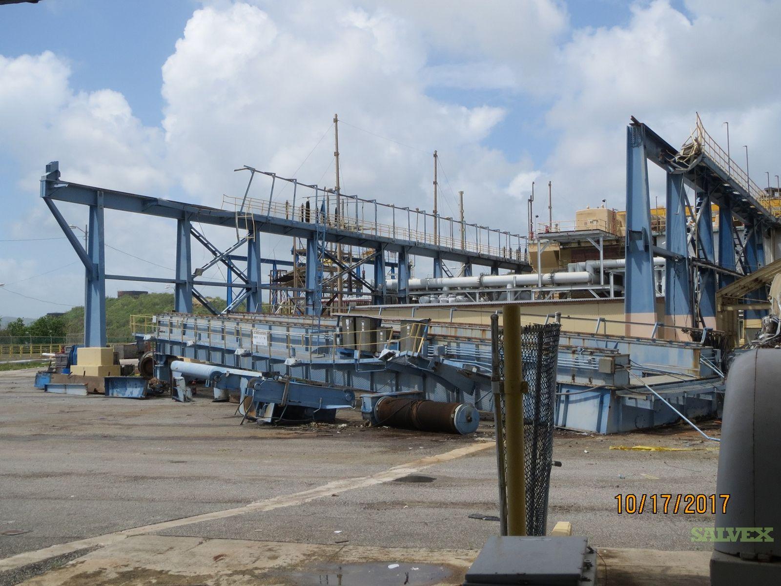 Scrap Overhead Crane with Electric Motors 90/15 Tons Capacity (1 Unit)