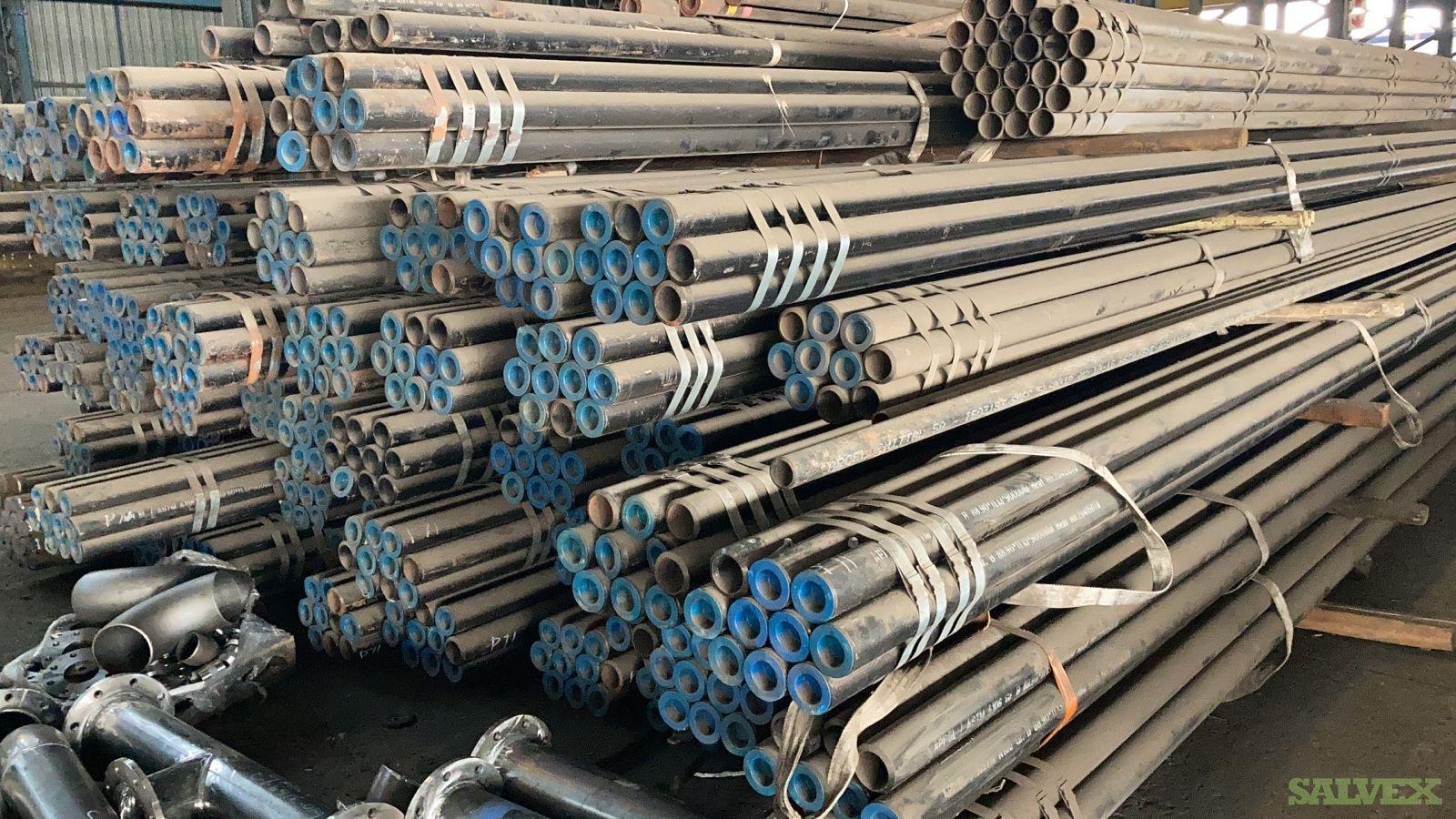 3 1/2 0.437WT Grade B SMLS Surplus Line Pipe (17,718 Feet / 115 Metric Tons)