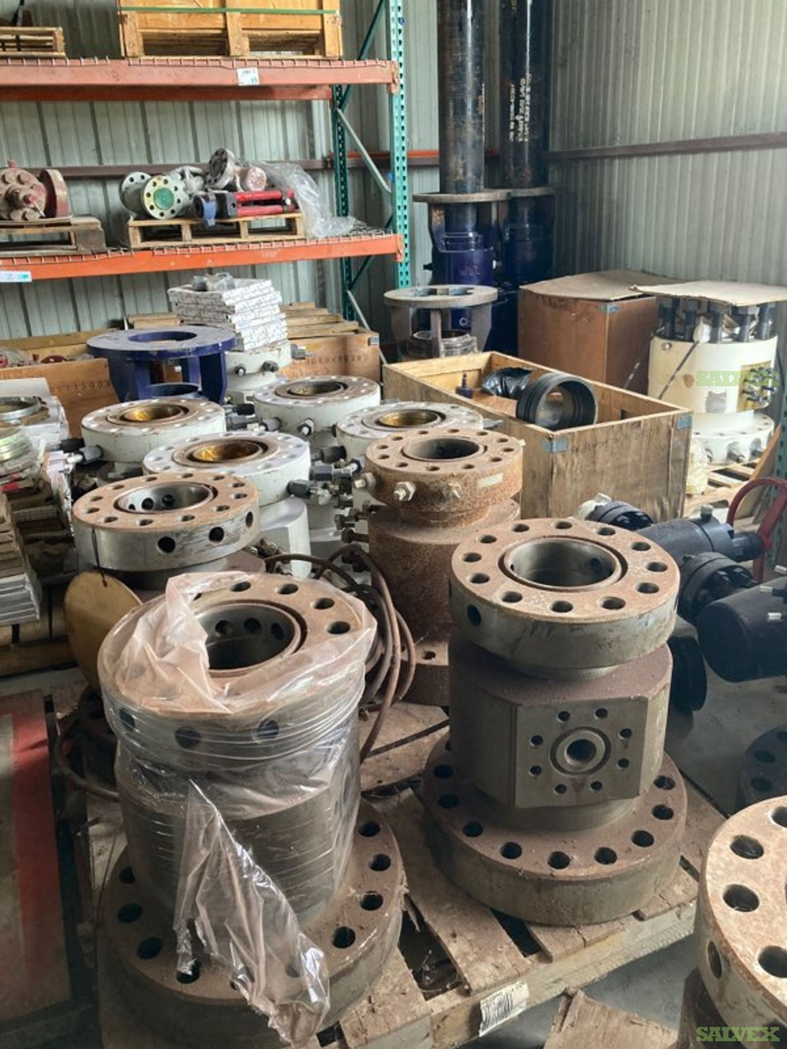 Wellheads and Accessories (76 pieces)