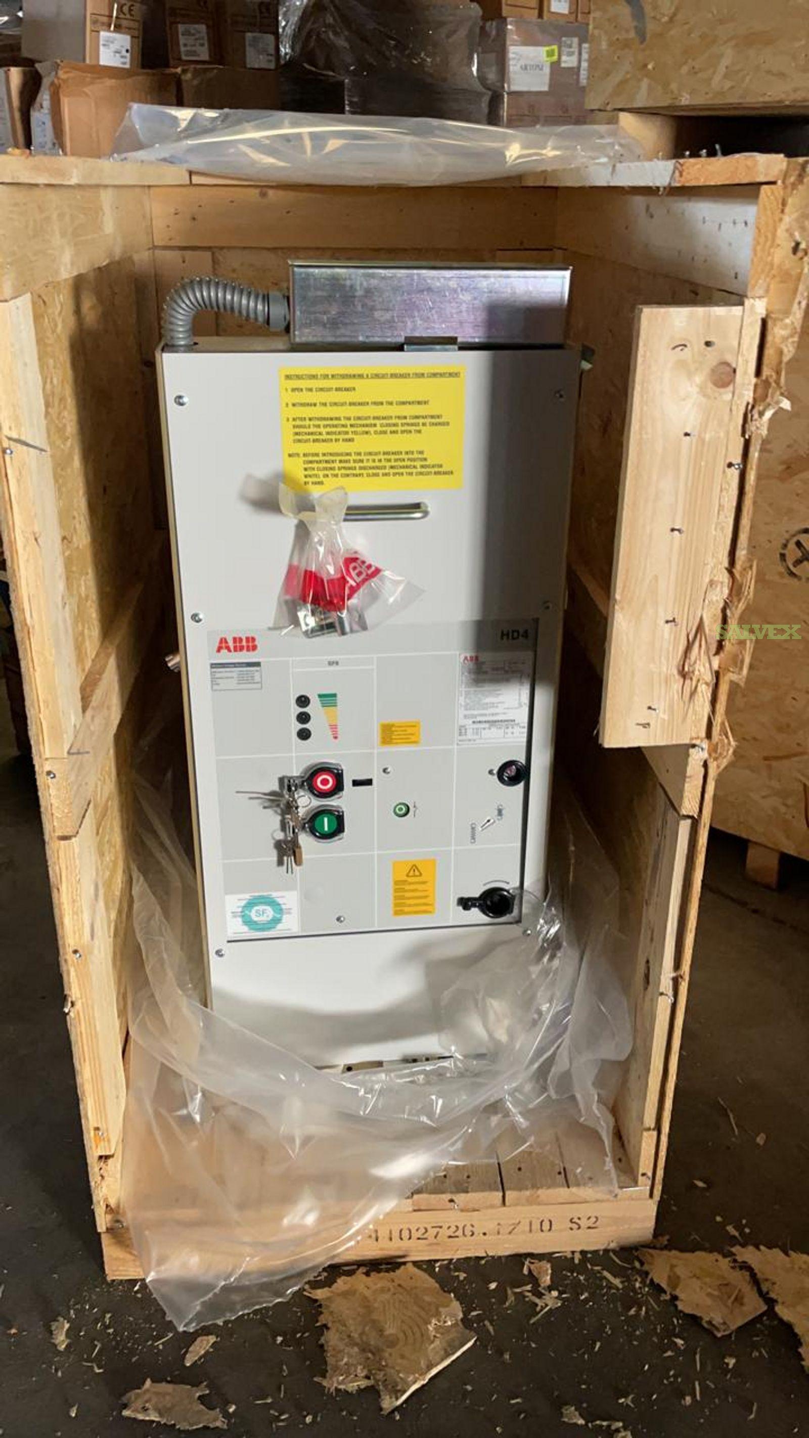 ABB Electric Circuit Breakers (15 Units)