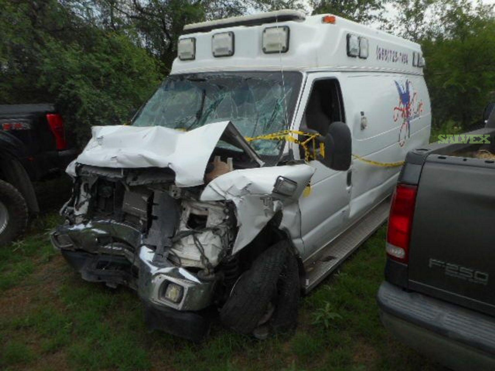 Ford F350 Ambulance 2014