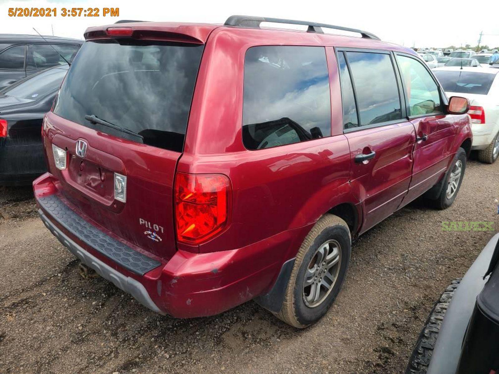 Honda Pilot EX-L SUV 2004 (1 Unit)