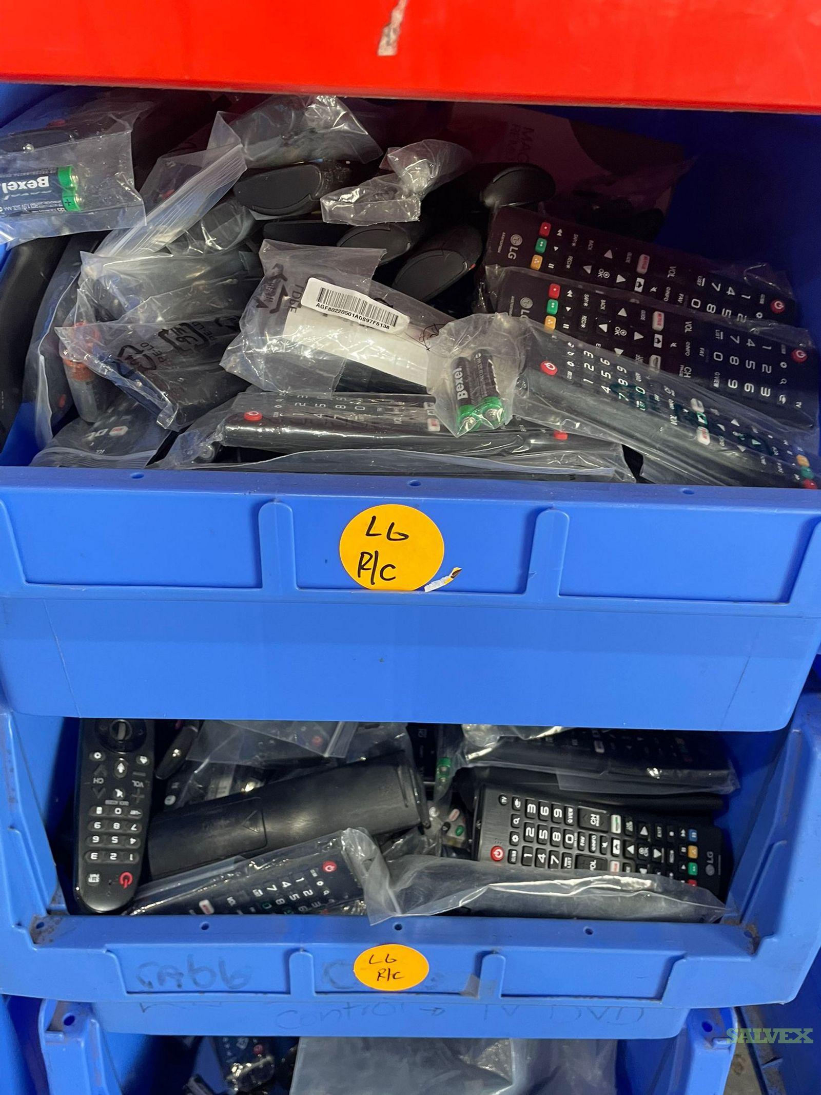 TV Remote Controls (1,023 Pieces)