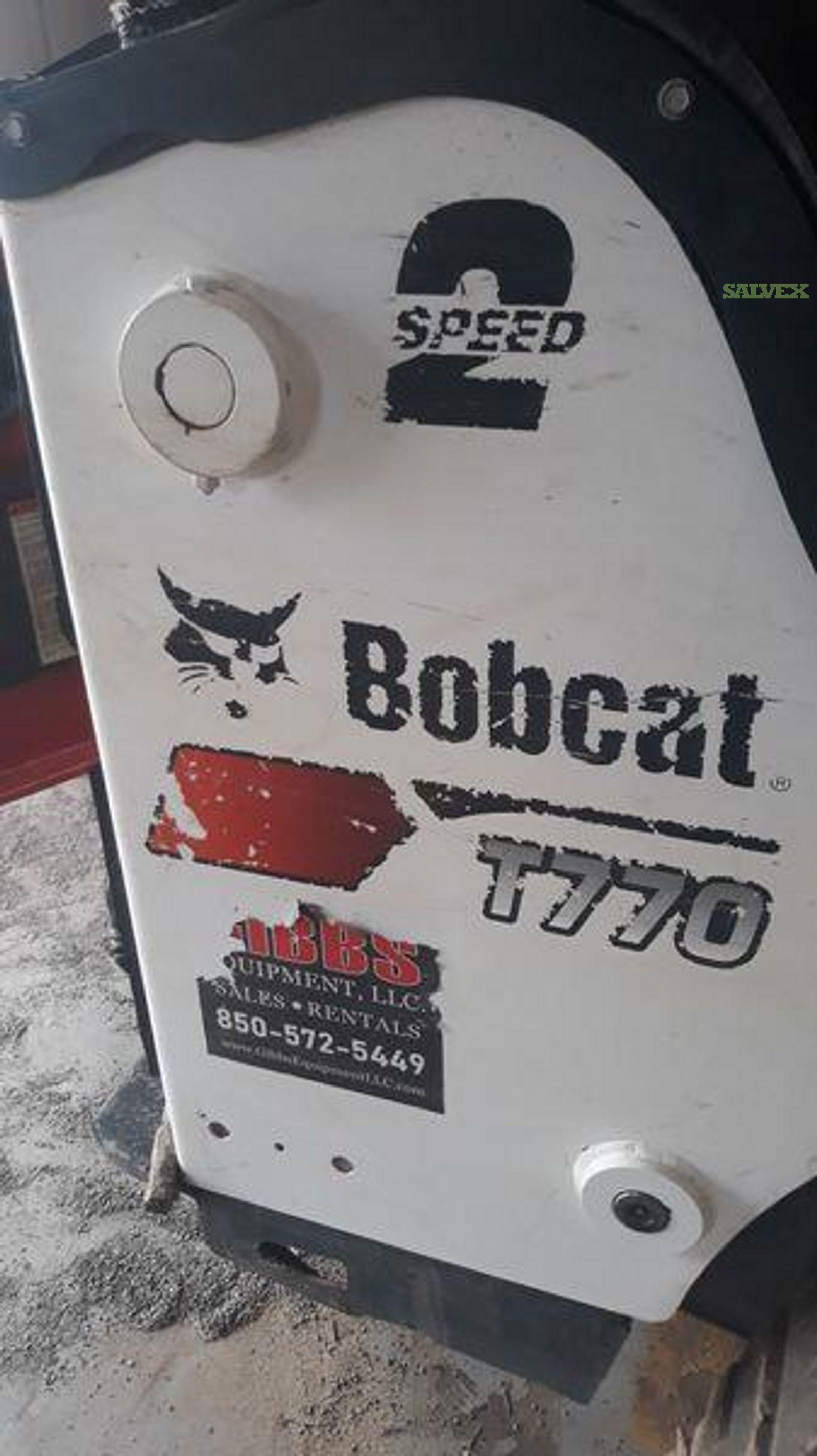 Bobcat T770 Compact Track Loader 2019 - Damaged (1 Unit)