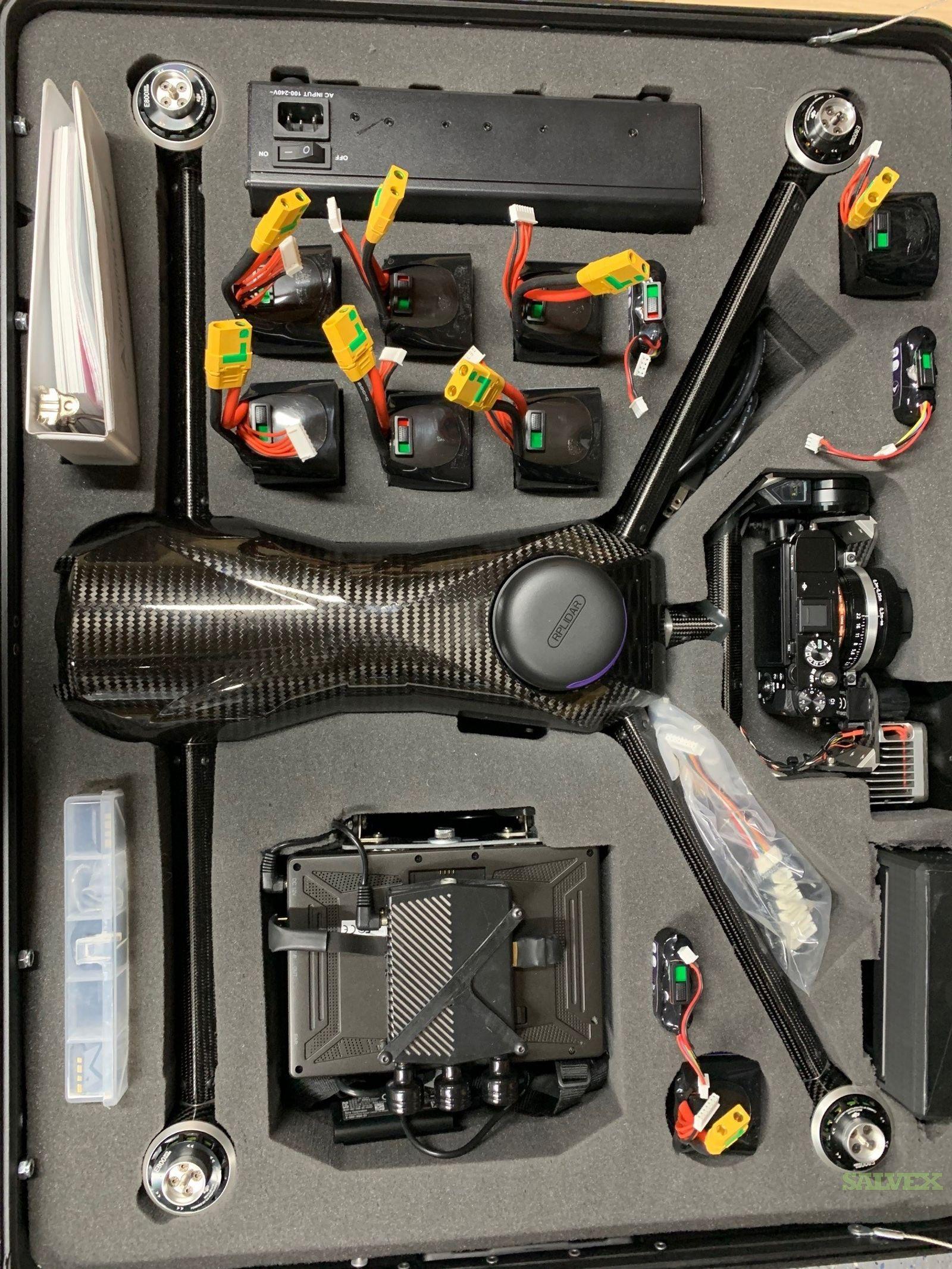 Confined Space Inspection UAV (1 Unit)