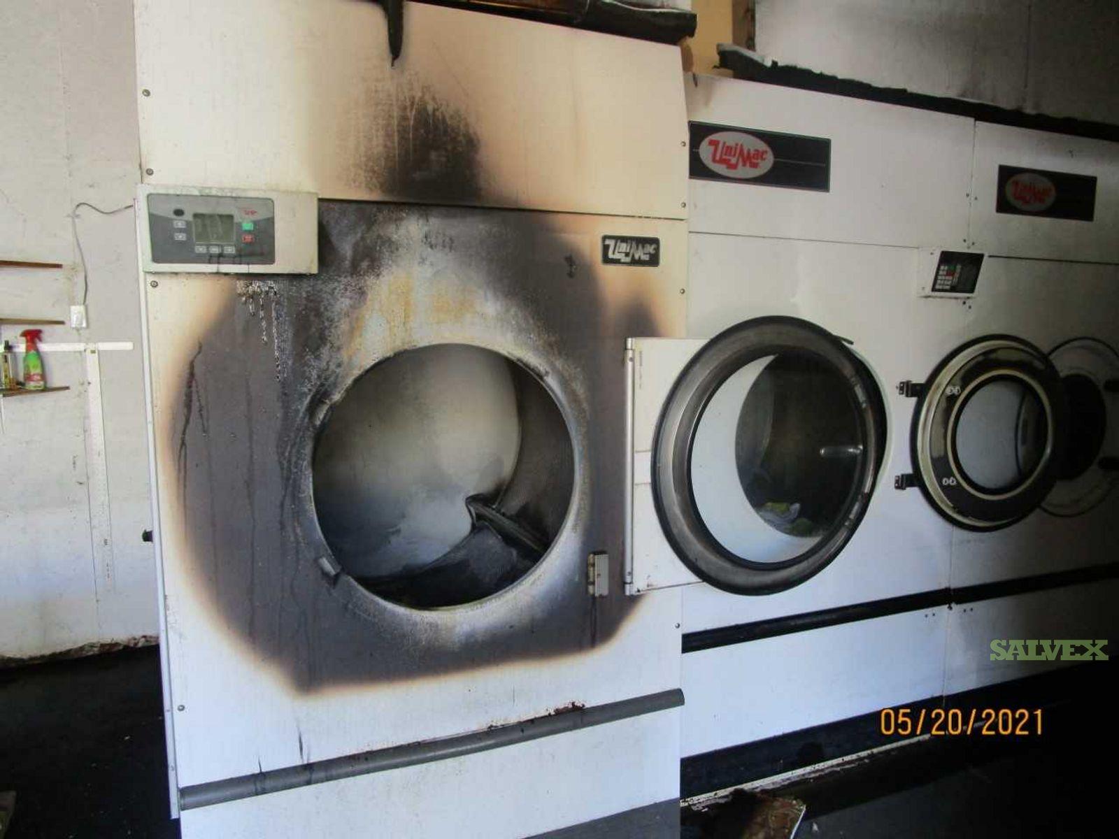 UniMac Commercial Grade Propane Operated Dryer Machine - Damaged (1 Unit)