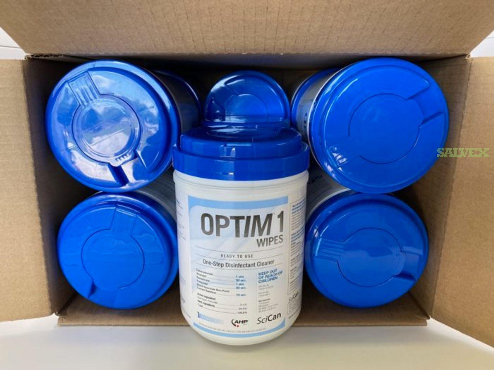 Optim1 RTU Wipes 6''x7'' OEM (400 Cases)