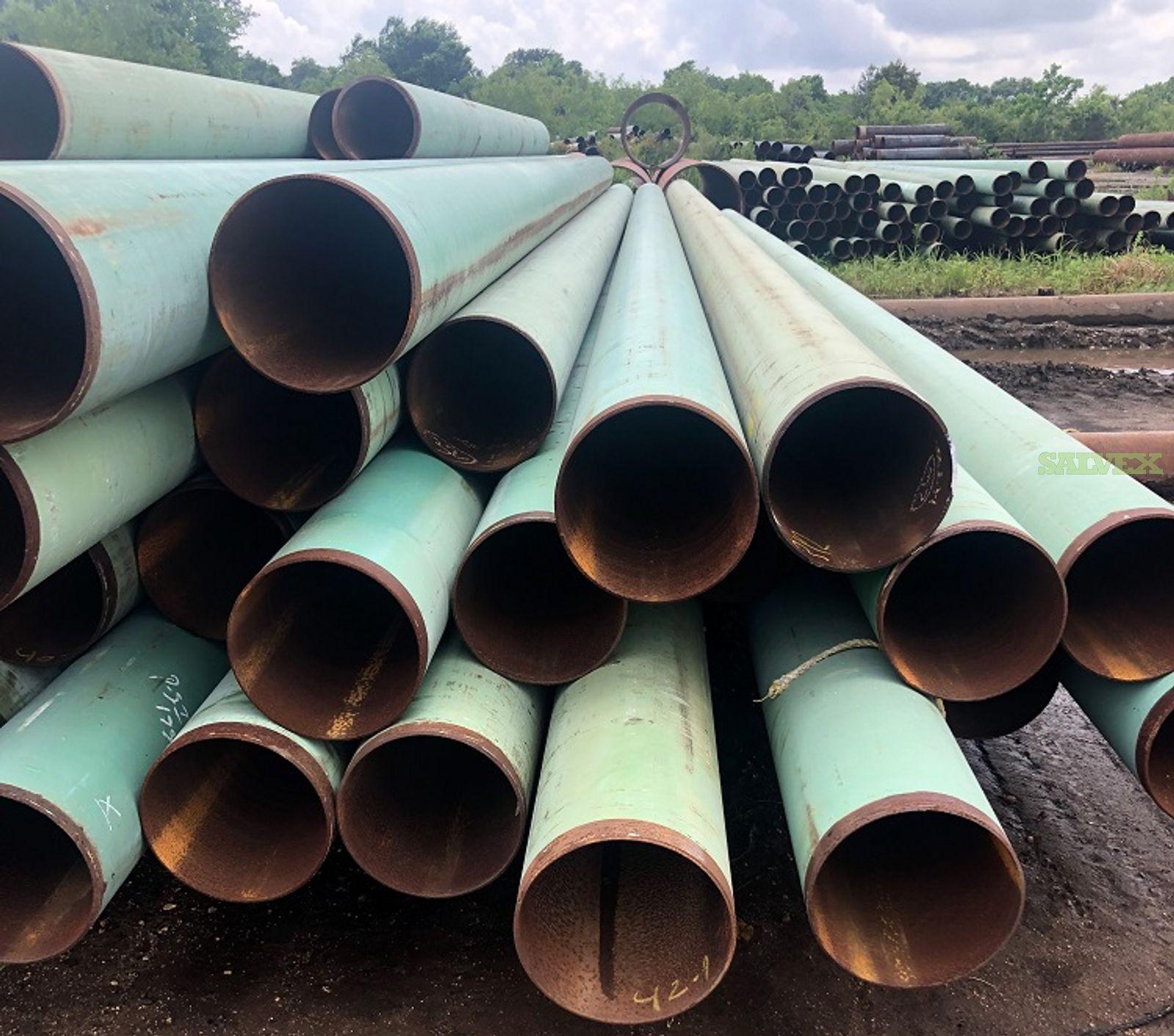8 5/8 .219WT FBE Surplus Line Pipe (1,884 Feet / 17 Metric Tons)