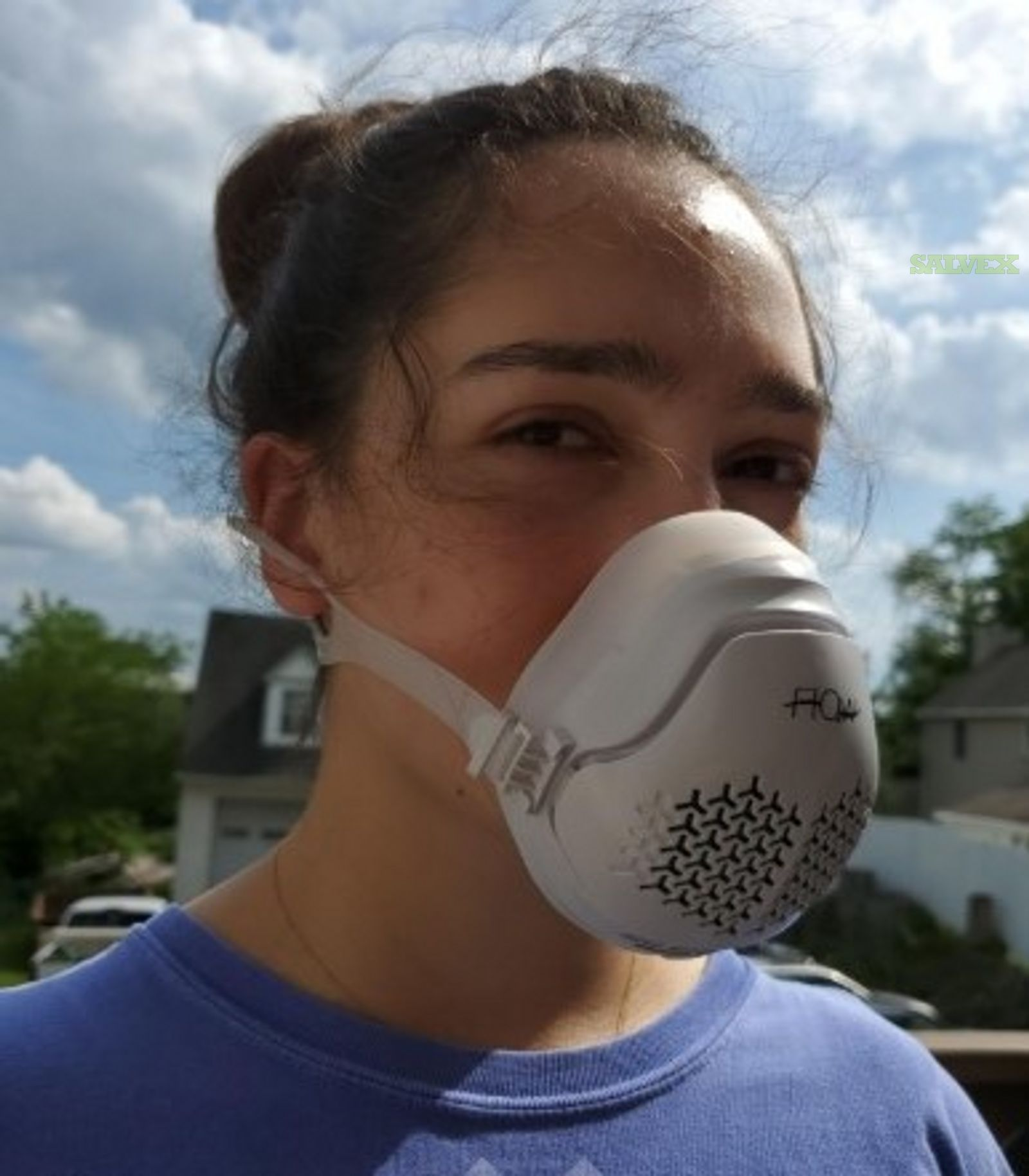 O2 Flow Personal Air Purifier Mask With Hepa And Carbon Filter(900 Units)