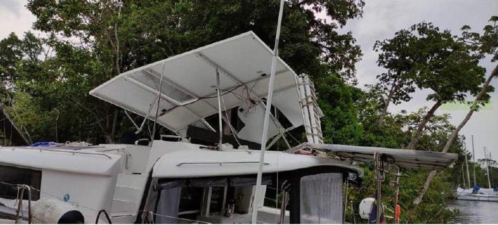 Damaged Catamaran Boat 2017