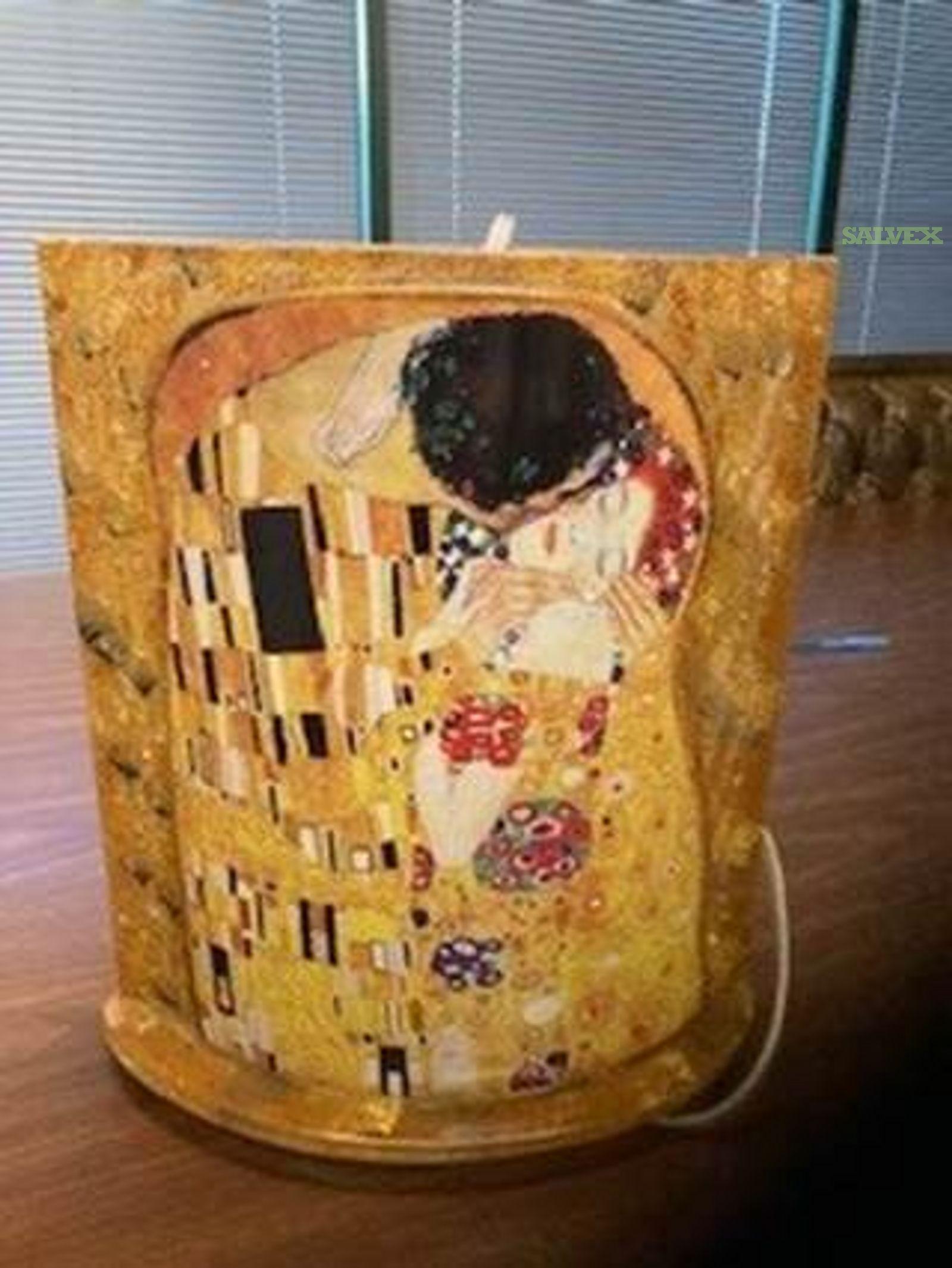 Gustav Klimt The Kiss Art Mood Lamps (49 Units)