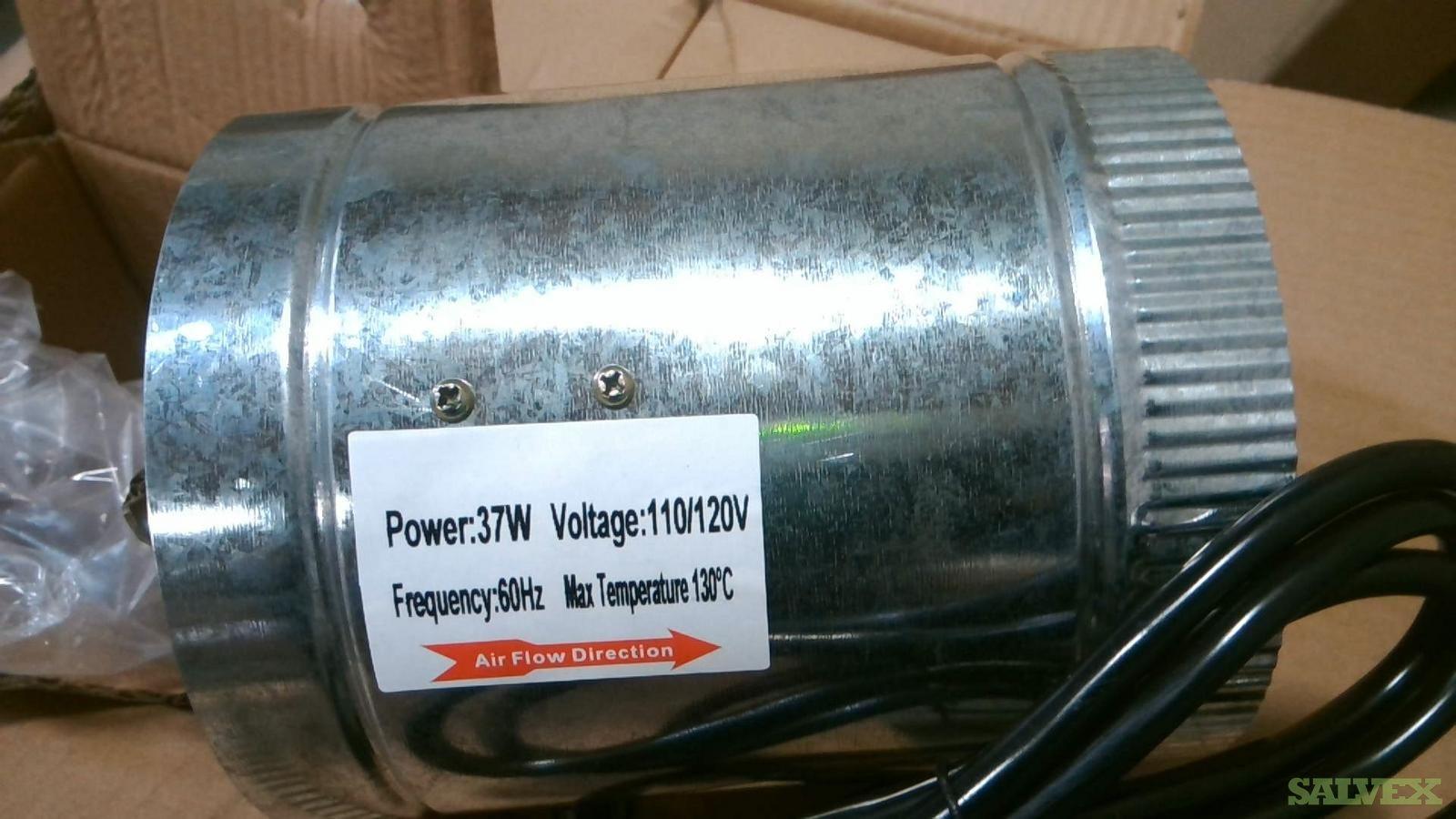 Duct Fans AC 110/120V (3000 Units)