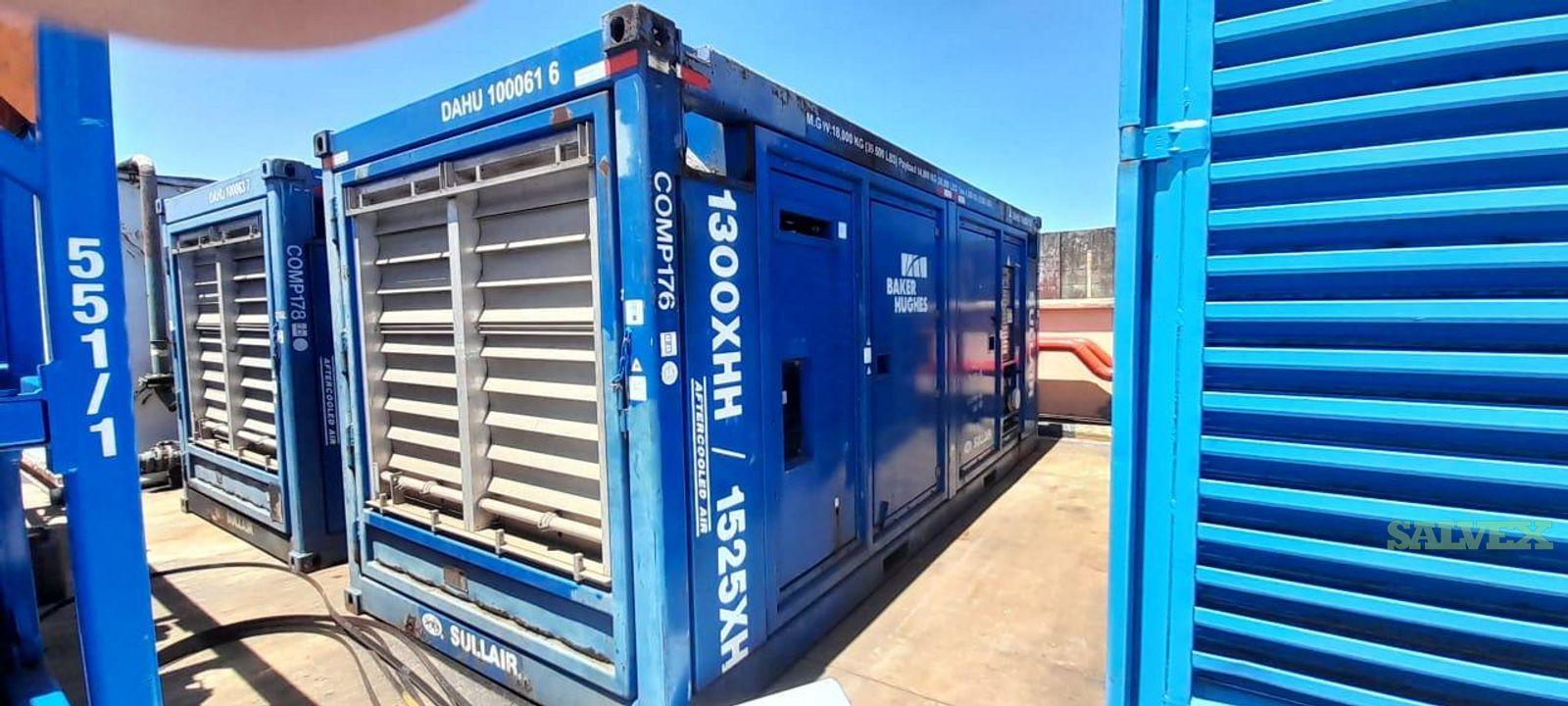 Air Compressor Sullair 1350-1525 SCFM (10 Units)