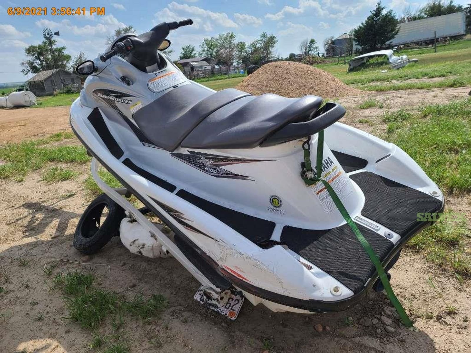 Yamaha XLT1200 2001  Waverunner and ShoreLand'r Certified and PWCL1000/L 13' Jet Skit Trailer 2003