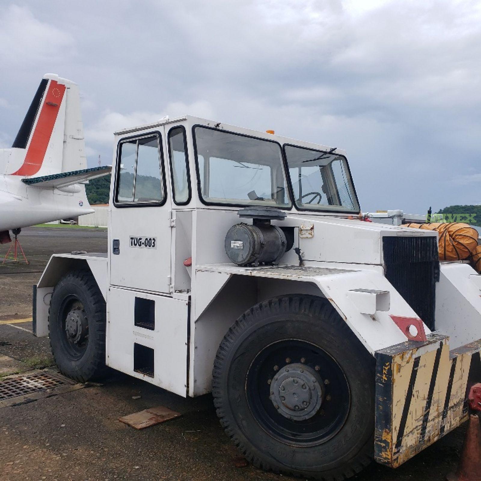 Tug, Air Compressor and Bag Car Loader (3 Items )
