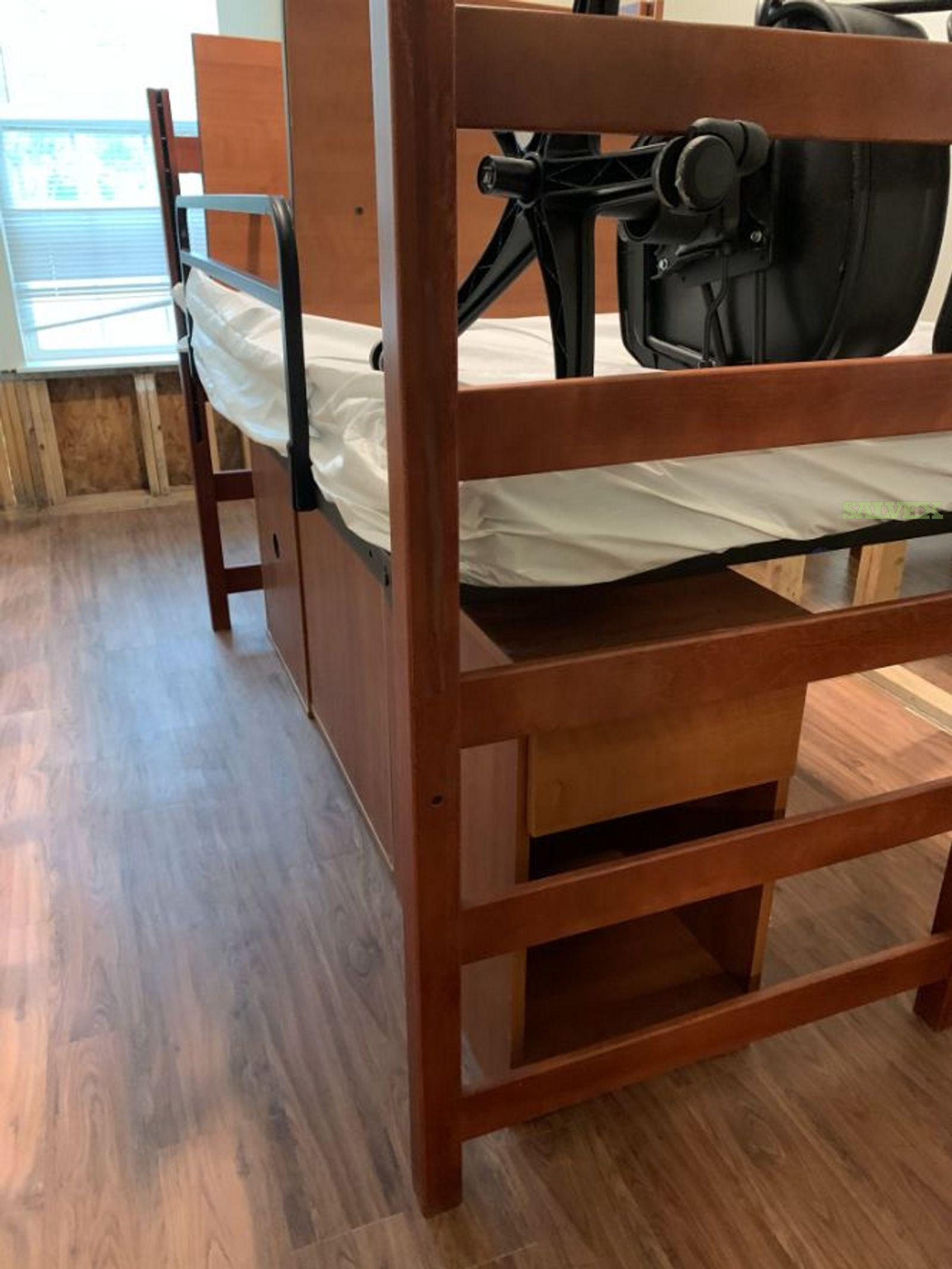 Wooden Dorm Furniture (Sofas, Beds, Desks, Tables and More)