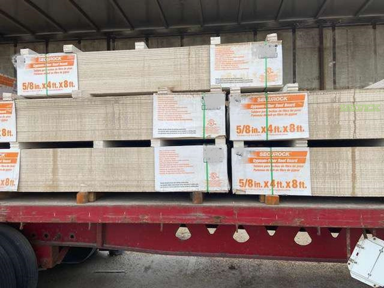 Securock 5/8in x 4ft x 8ft Gypsum-Fiber Roof Board (18 Packages) in MB, Canada