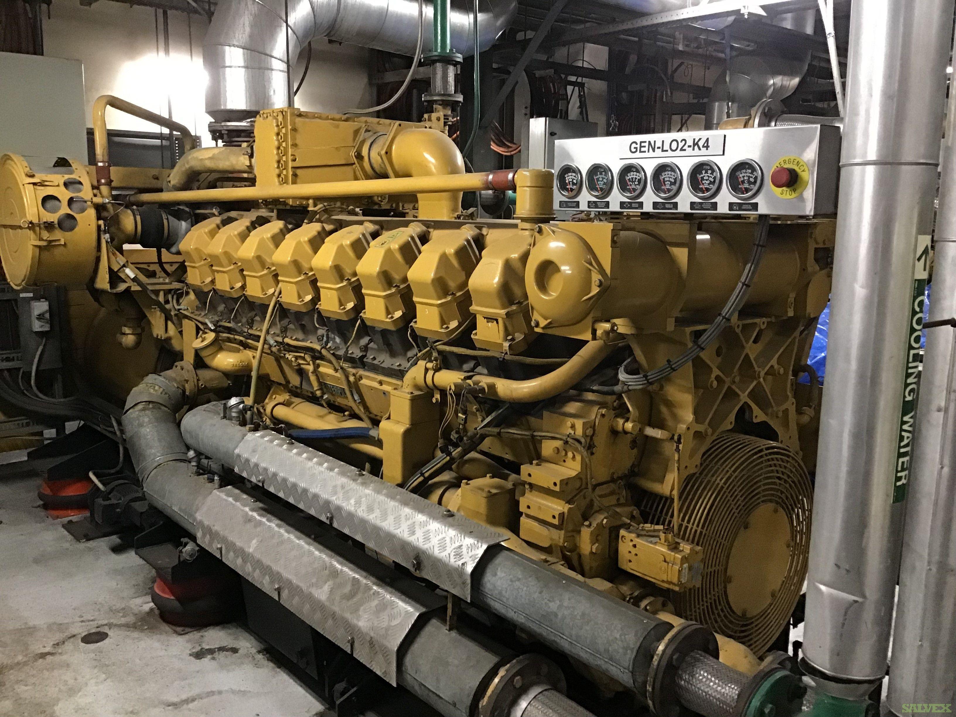 3516 Caterpillar Gas Generators 1000 KW (5 Units)