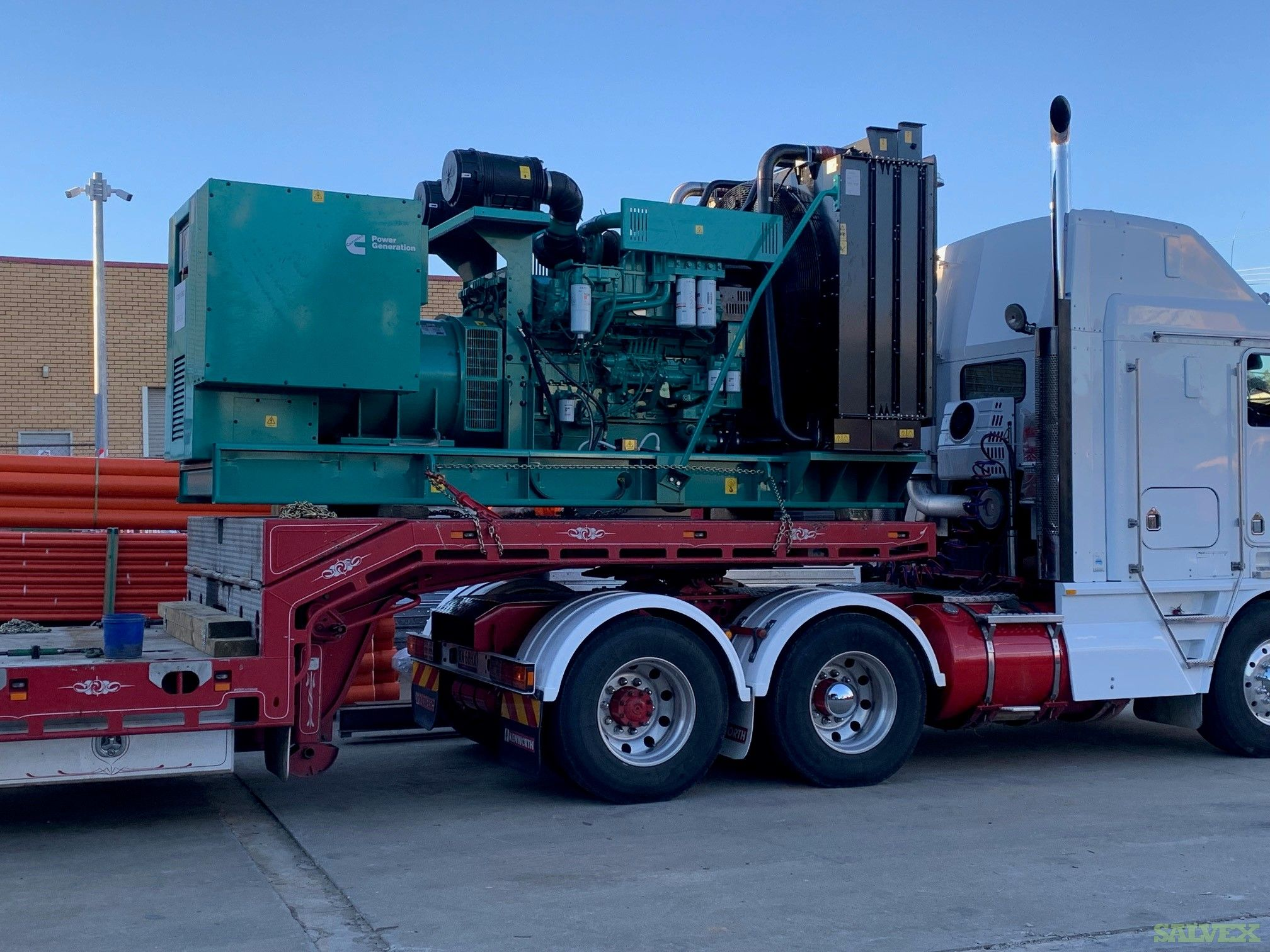 Cummins QST30G4 Generator(1 Unit)