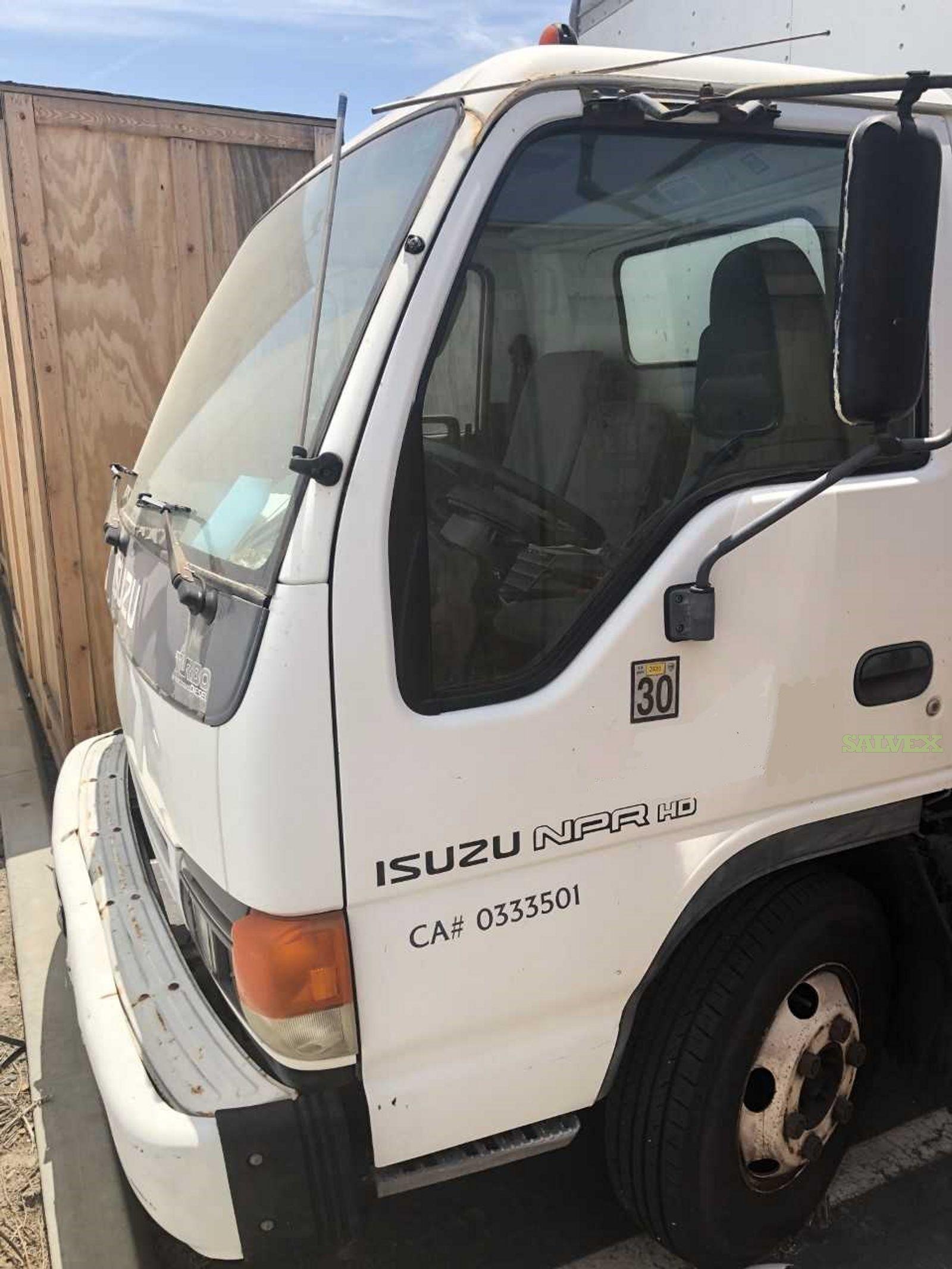 Isuzu NPR HD  Box Truck 2005 (1 Unit)