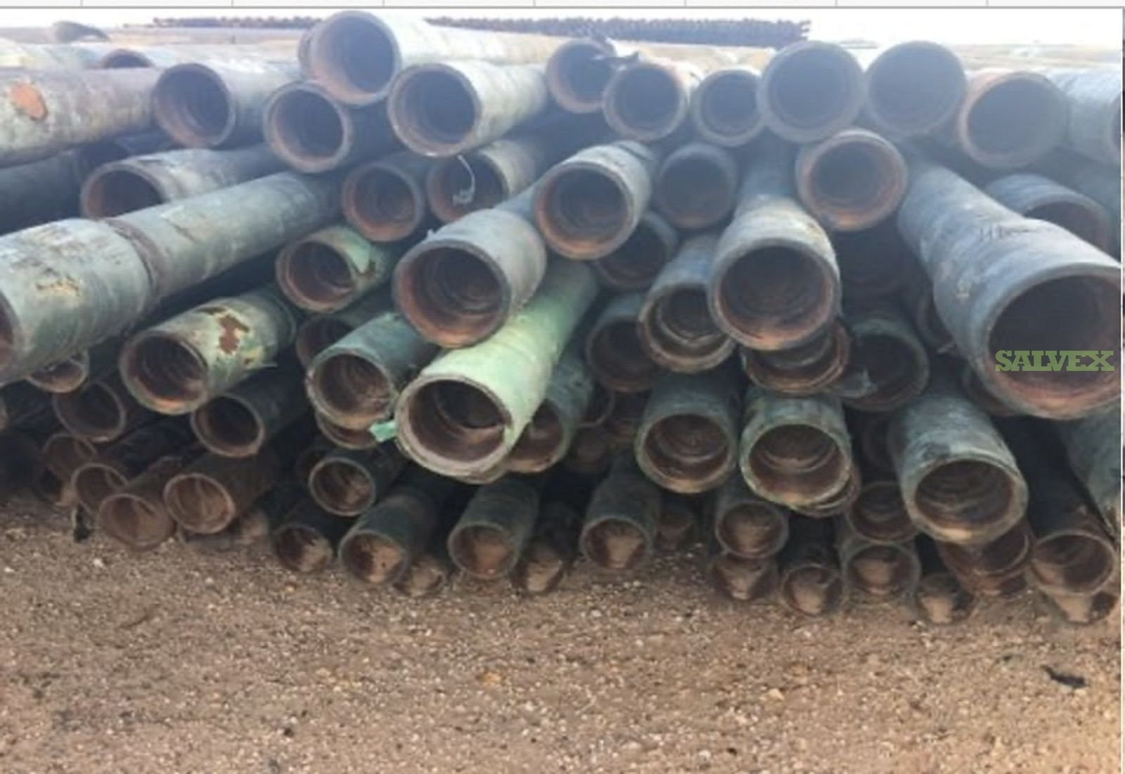 2 7/8 6.50# 8RD GL/GW R2 Used Tubing (24,330 Feet / 72 Metric Tons)