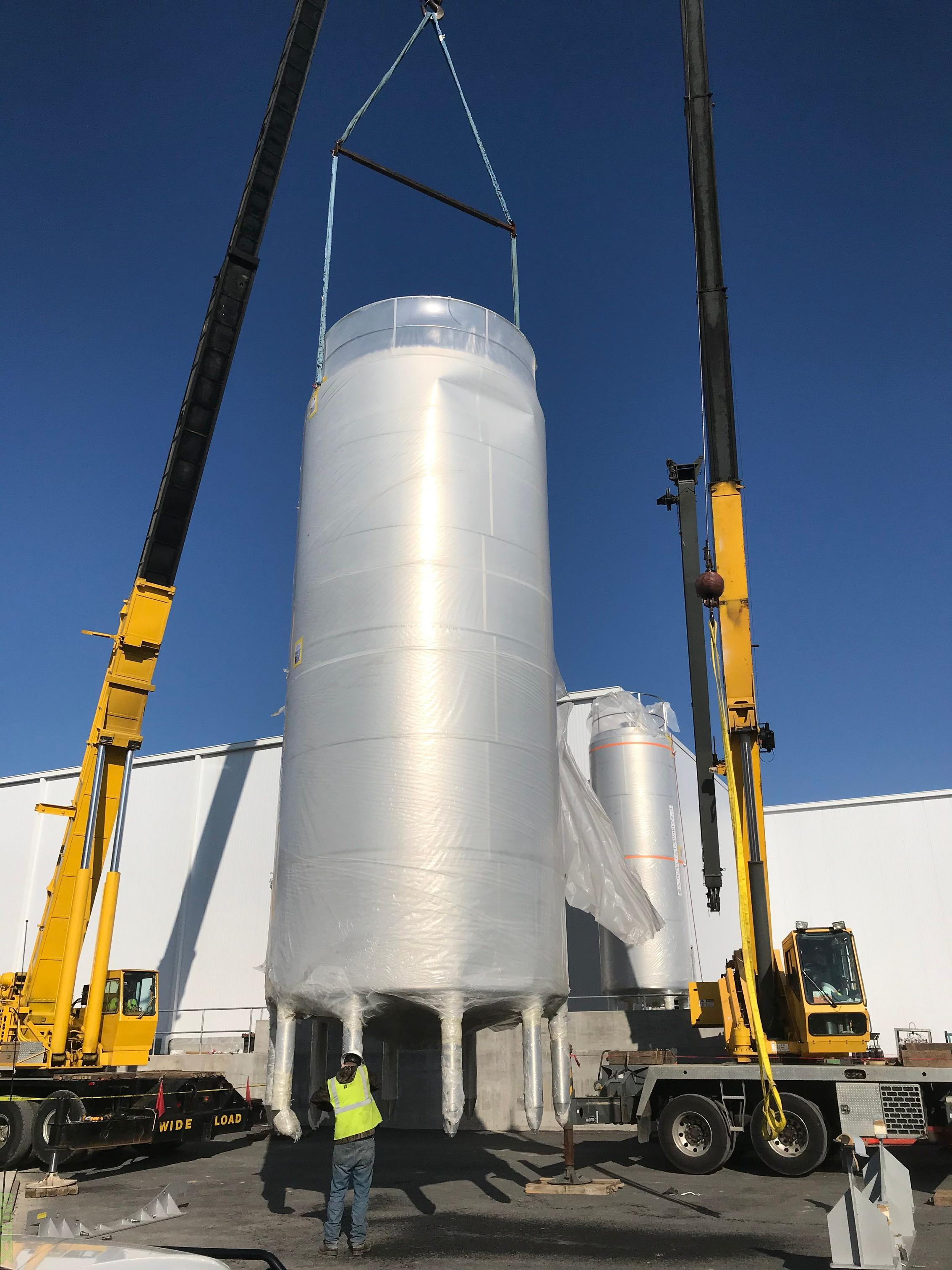 Stainless Steel Tanks (2 Units) - New Condition
