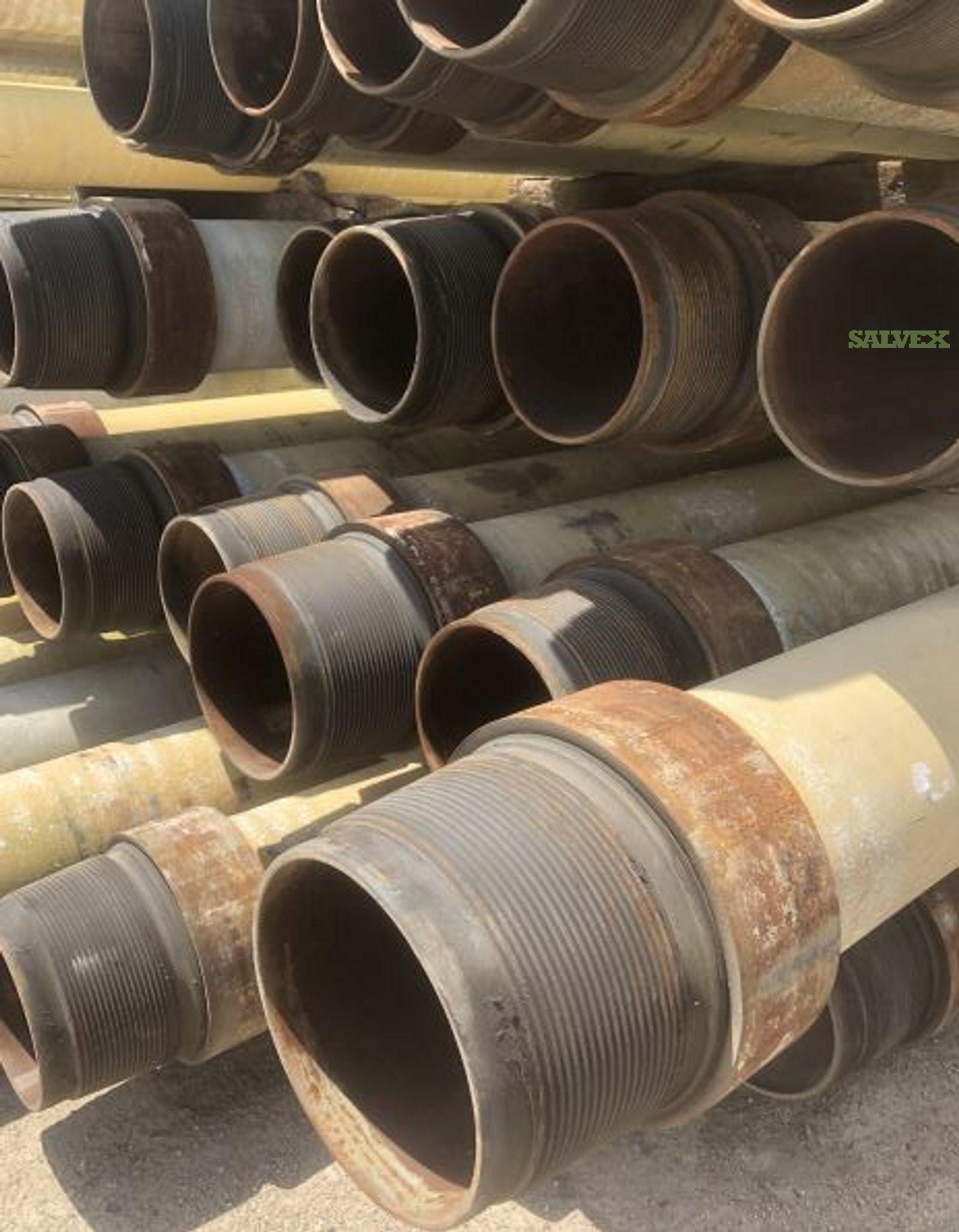12 3/4 86.39# X80 Used TRL Line Pipe (19,500 Feet / 764 Metric Tons)
