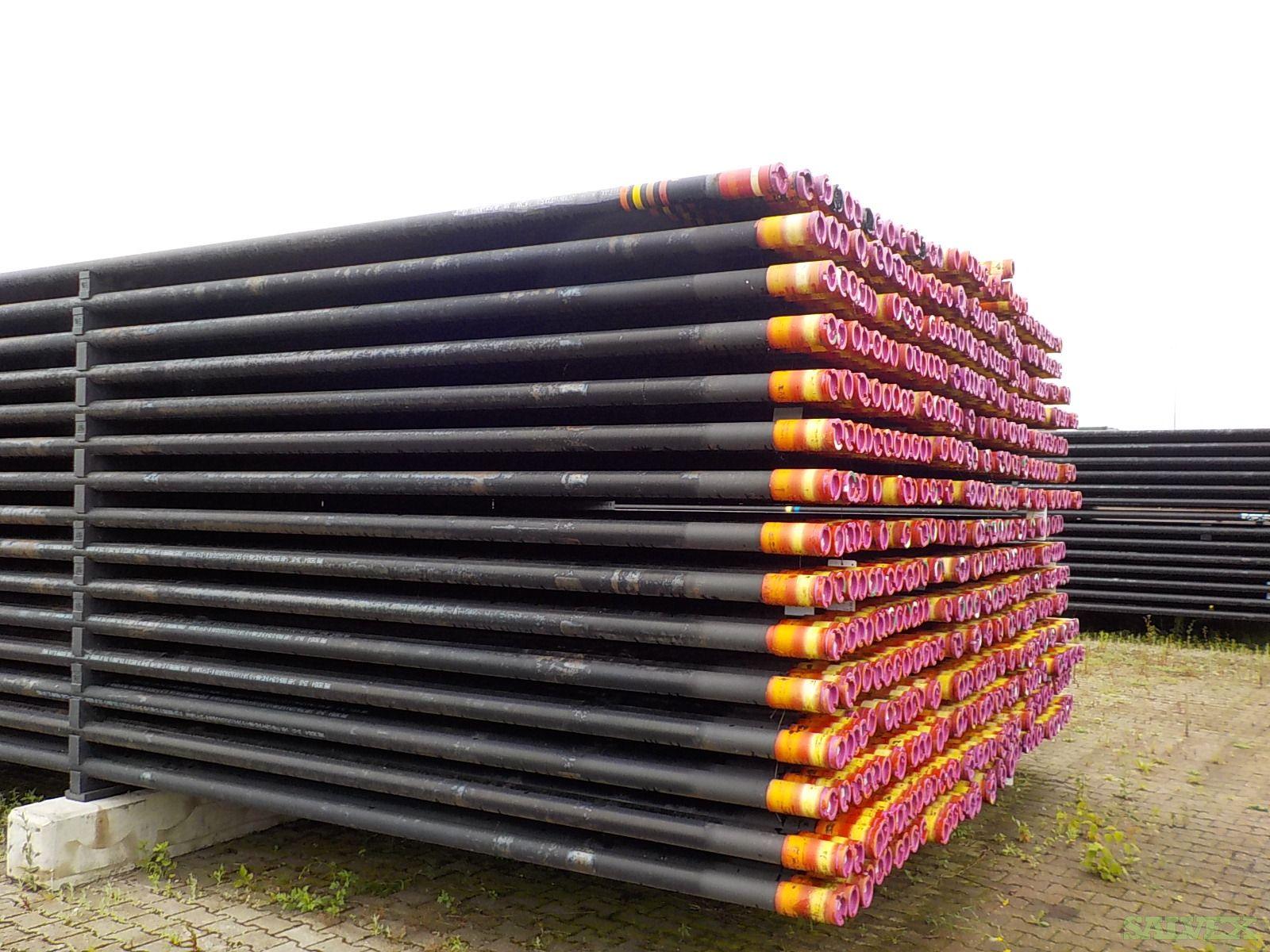 4 1/2'' and 3 1/2''  Chrome Surplus Tubing (7,183  Feet / 39 Metric Tons)