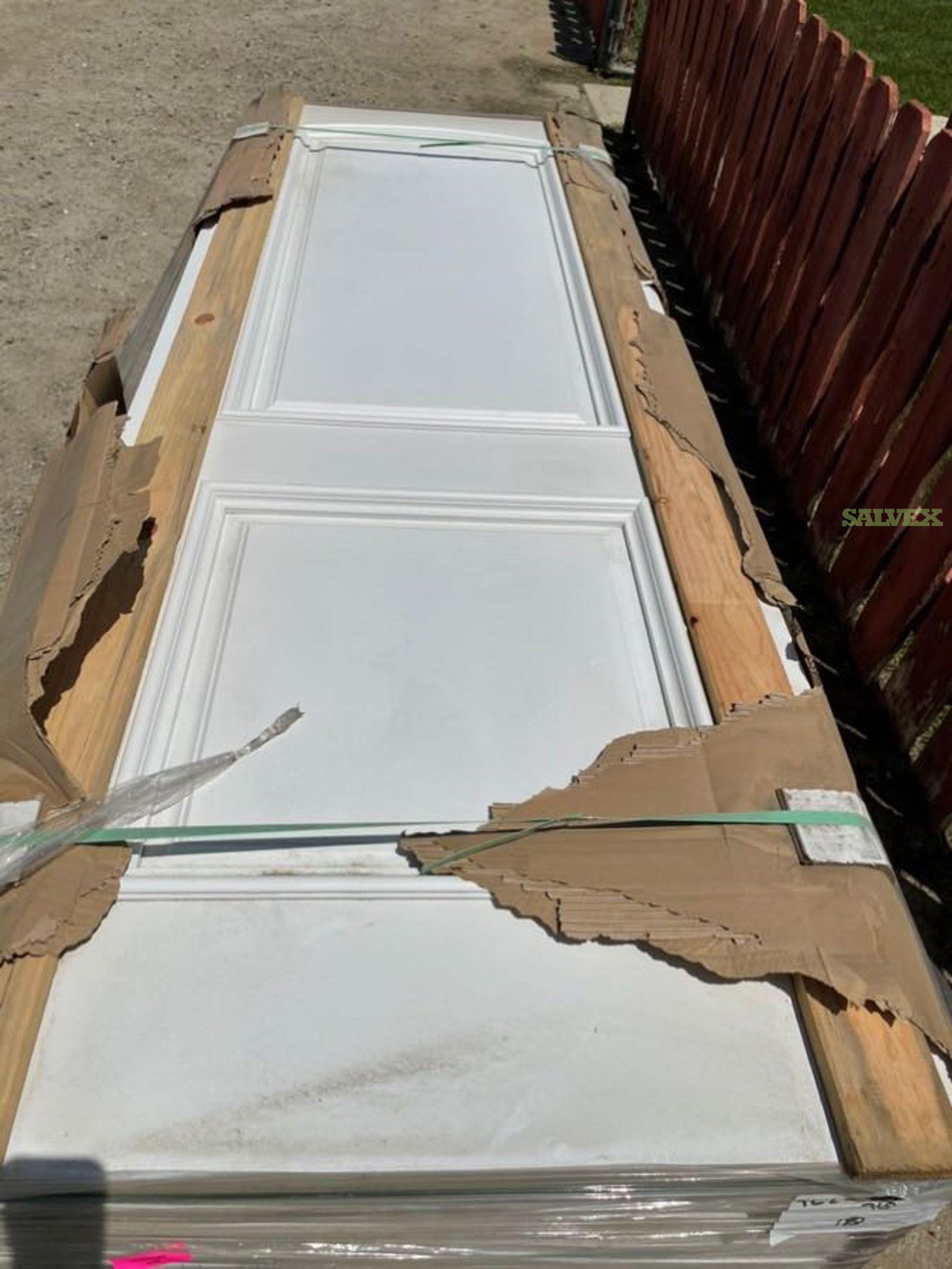 Raised Solid Panel Doors - 416 Units in Ca