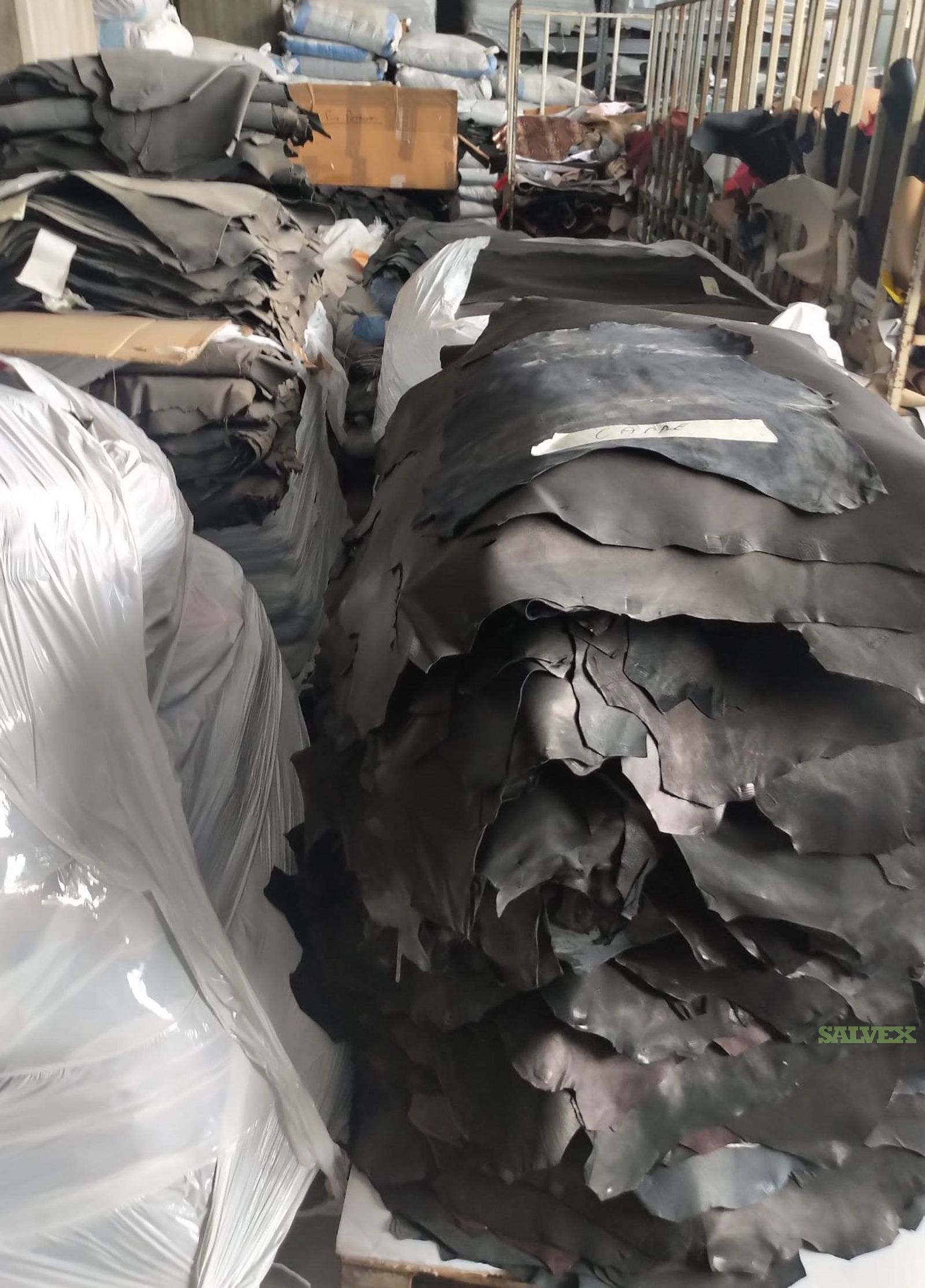 Italian Leather Pieces for Shoe Manufacturing (Approx. 20,000 Kgs)