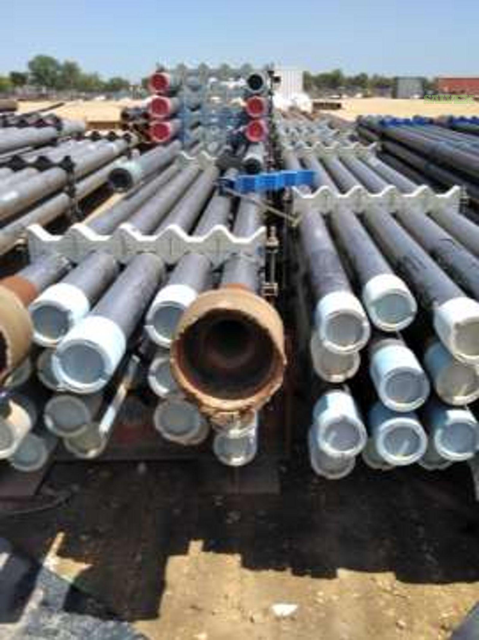 4 1/2 - 10 Surplus Casing, Tubing & Line Pipe (483 Metric Tons)