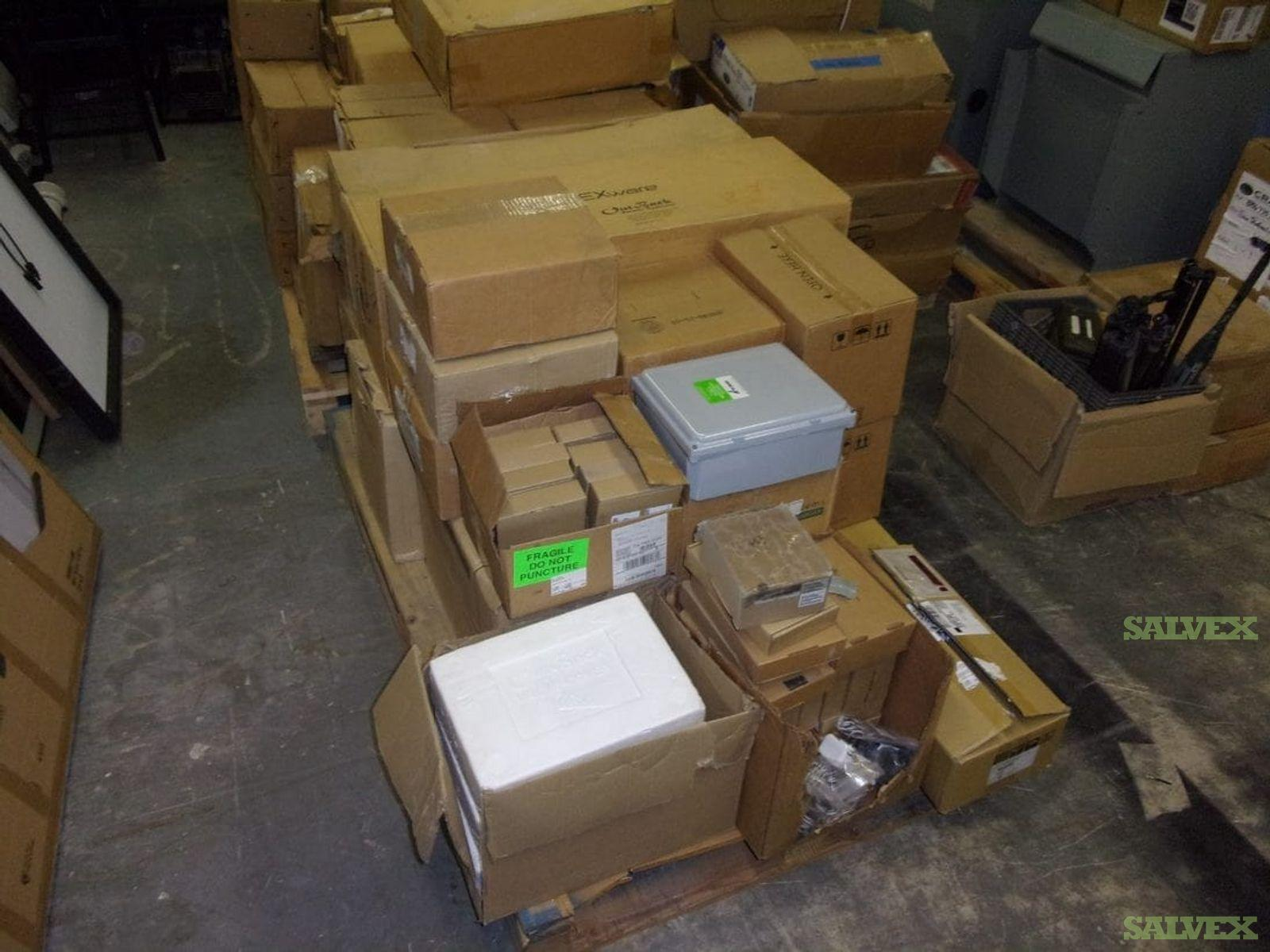 Solaredge; SMA; Outback Solar Inverters & Accessories (26 Units)